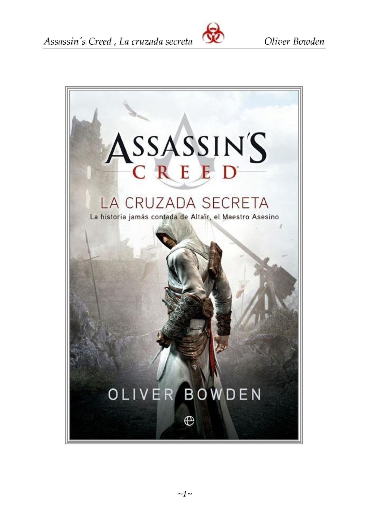Calaméo - Assassin\'s Creed 3, La Cruzada Secreta Oliver Bowden