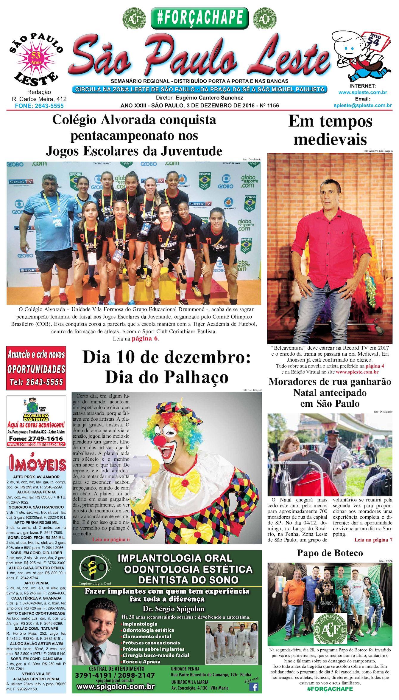 Calaméo - São Paulo Leste edição 1156 - 03.12.16 0291df7d3a