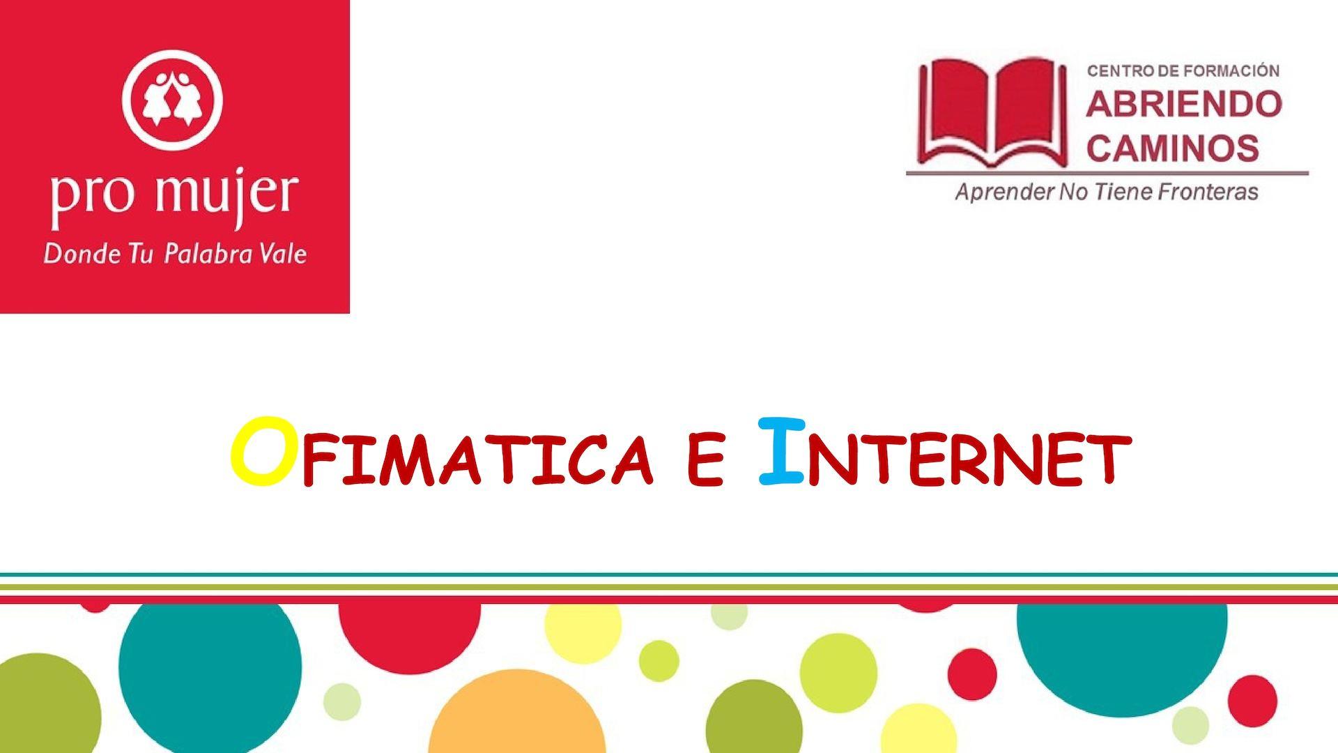 Dp 1 3 Ofimatica E Internet