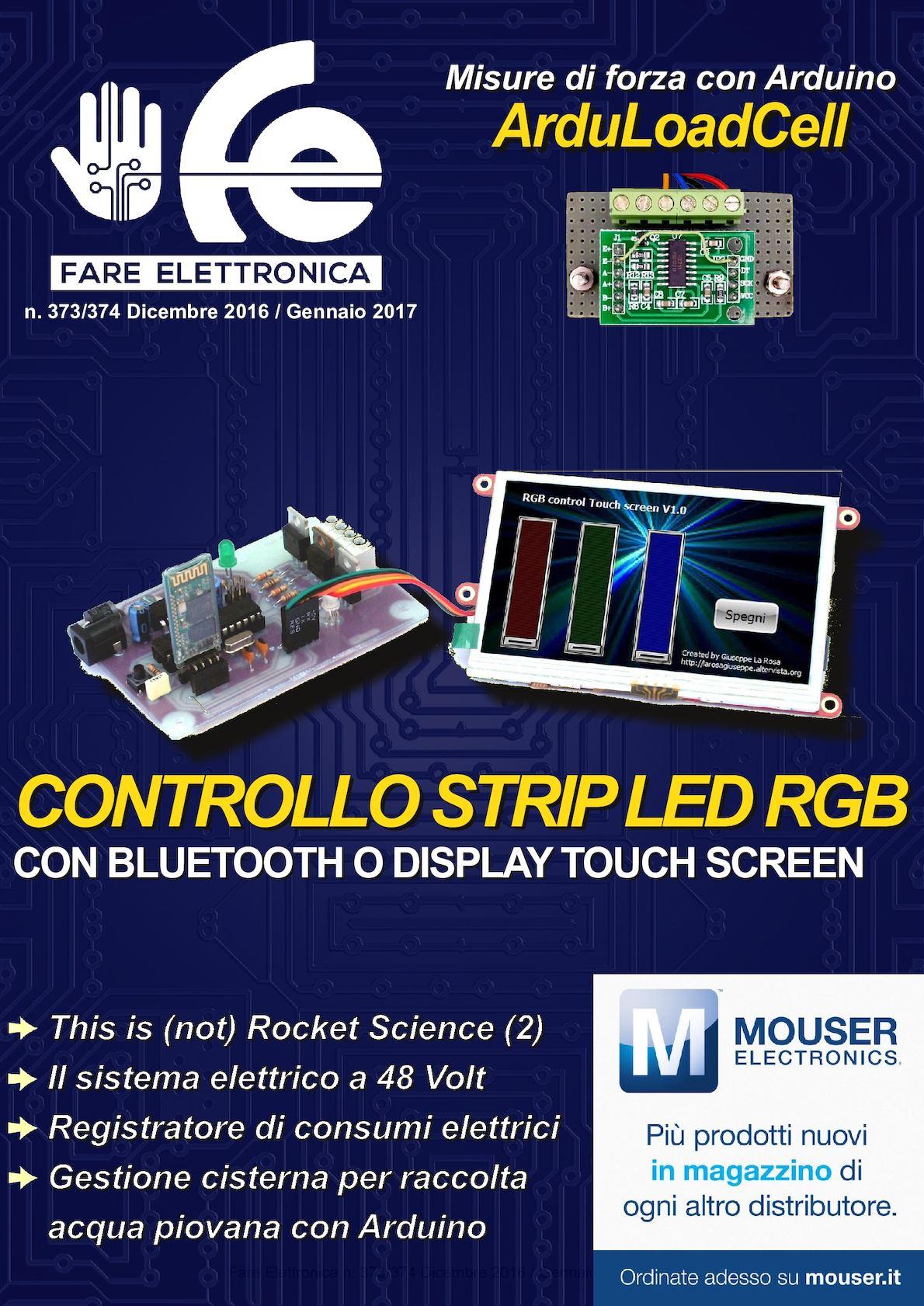Schemi Elettrici Arduino : Realizziamo un sensore di colore con arduino