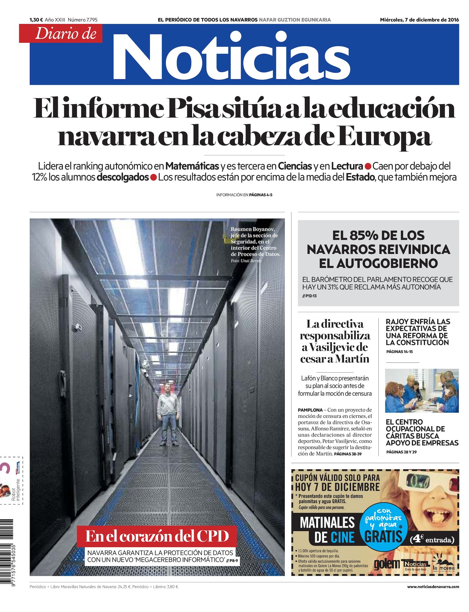 02edb7503e Calaméo - Diario de Noticias 20161207