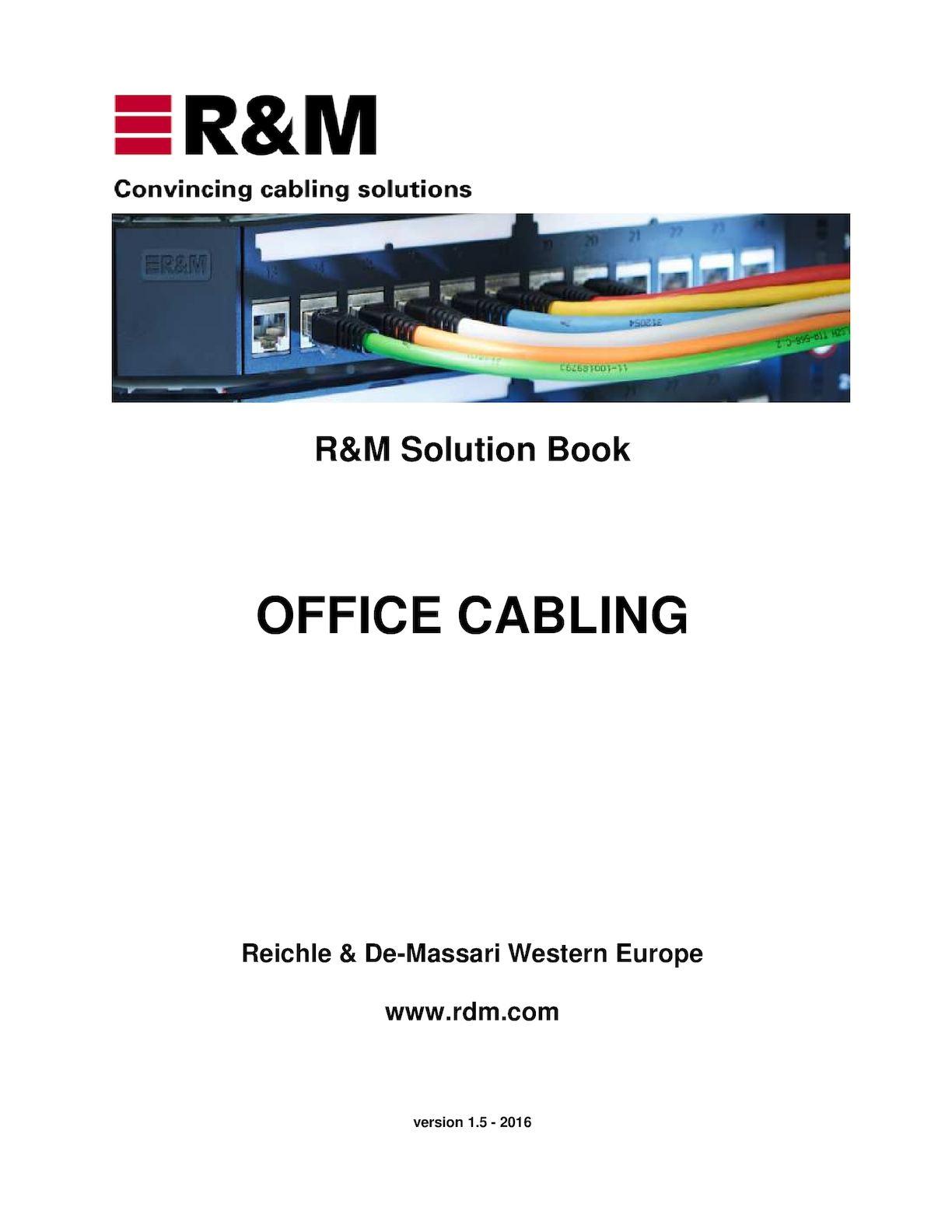 Calamo Office Cabling Rm 3m Cat6 U Utp 4 Pairs Cable