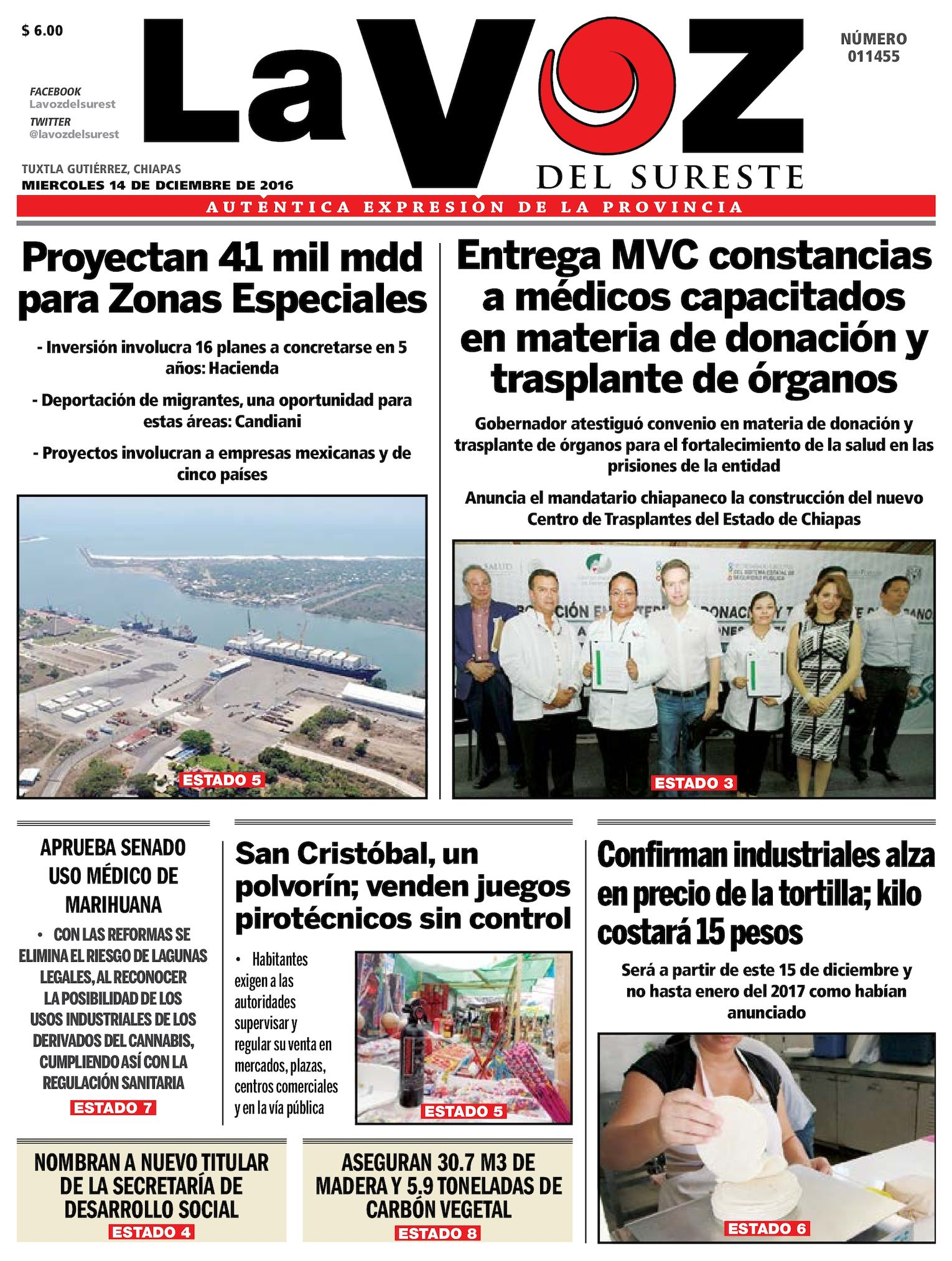 Calaméo - Diario La Voz del Sureste 428fa9d65ac