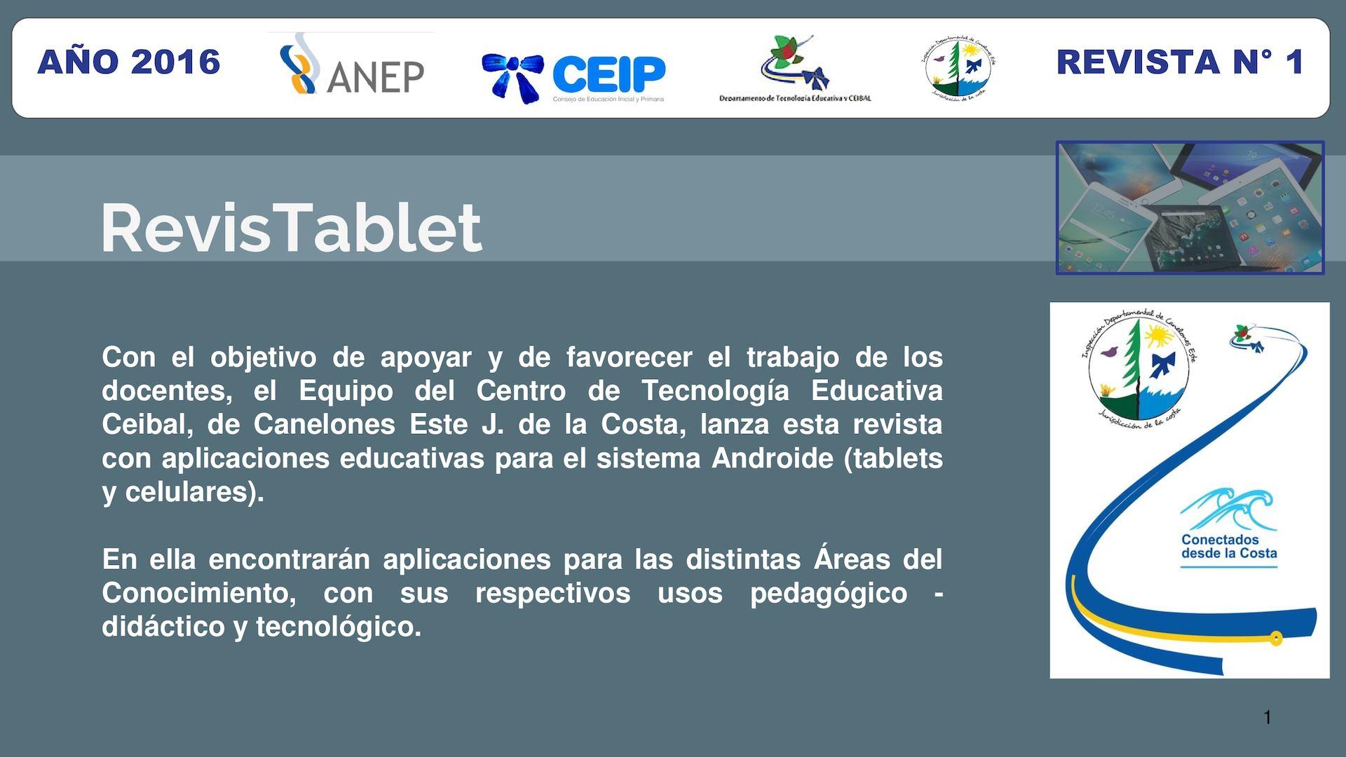 Calaméo - Fichas Tablet Costa 16