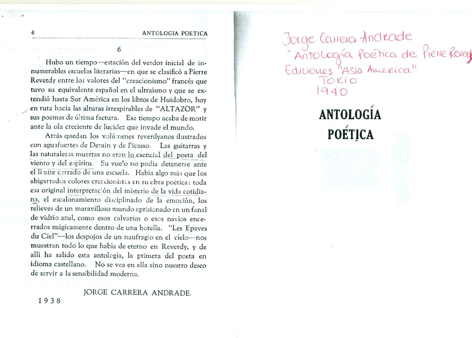 Antología Poética De Pierre Reverdy