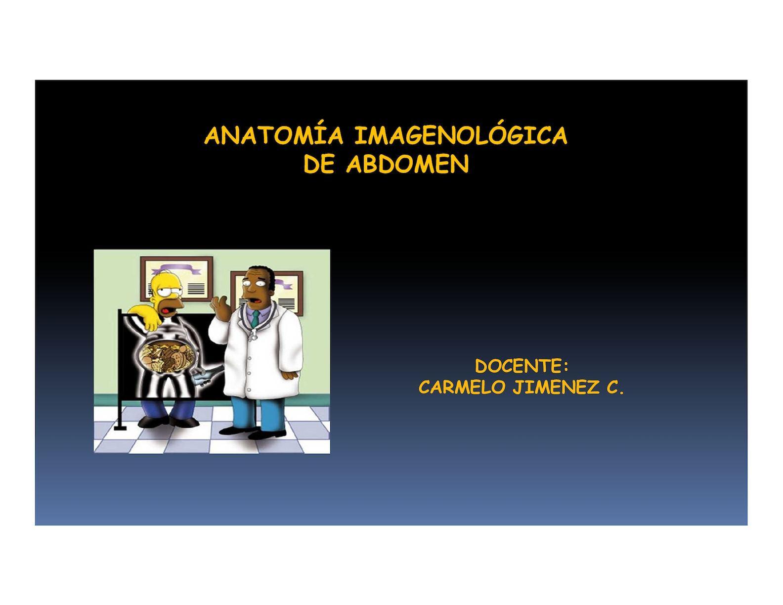 Calaméo - Explicacion Abdomen Radiologia