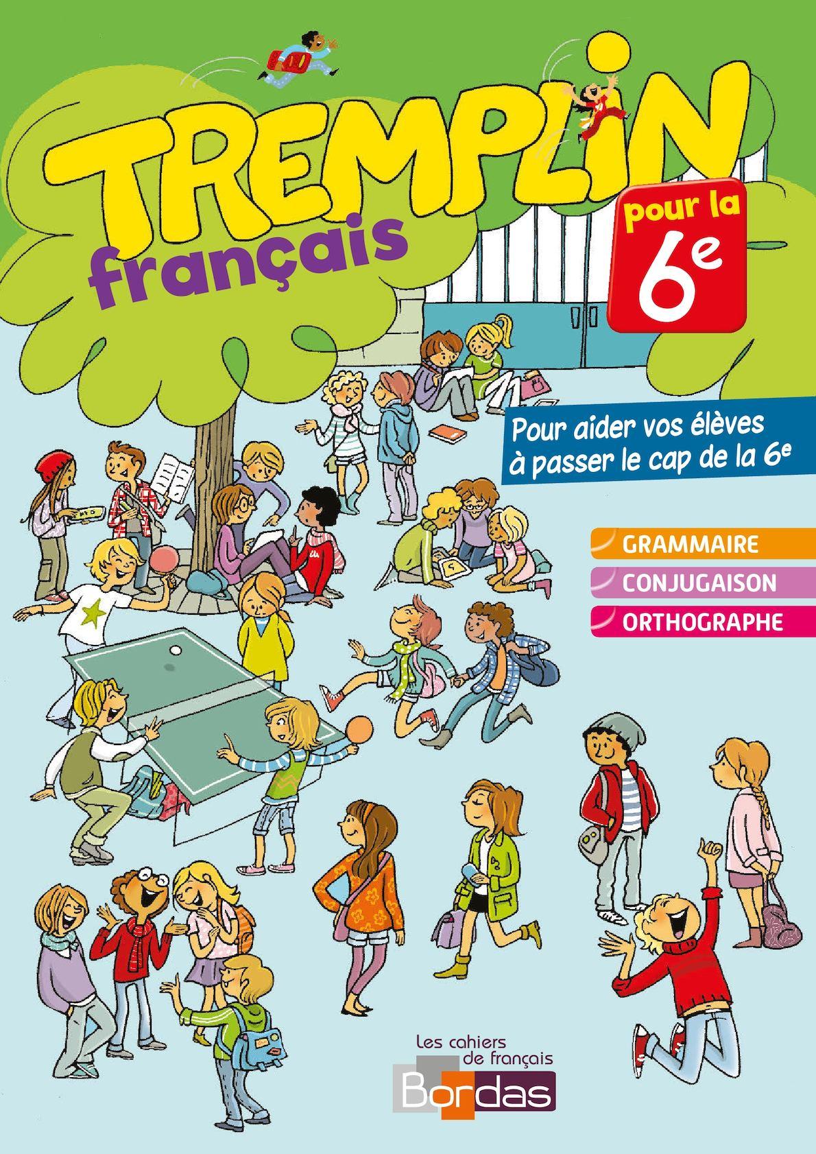 Tremplin Pour La 6e Francais Calameo Downloader