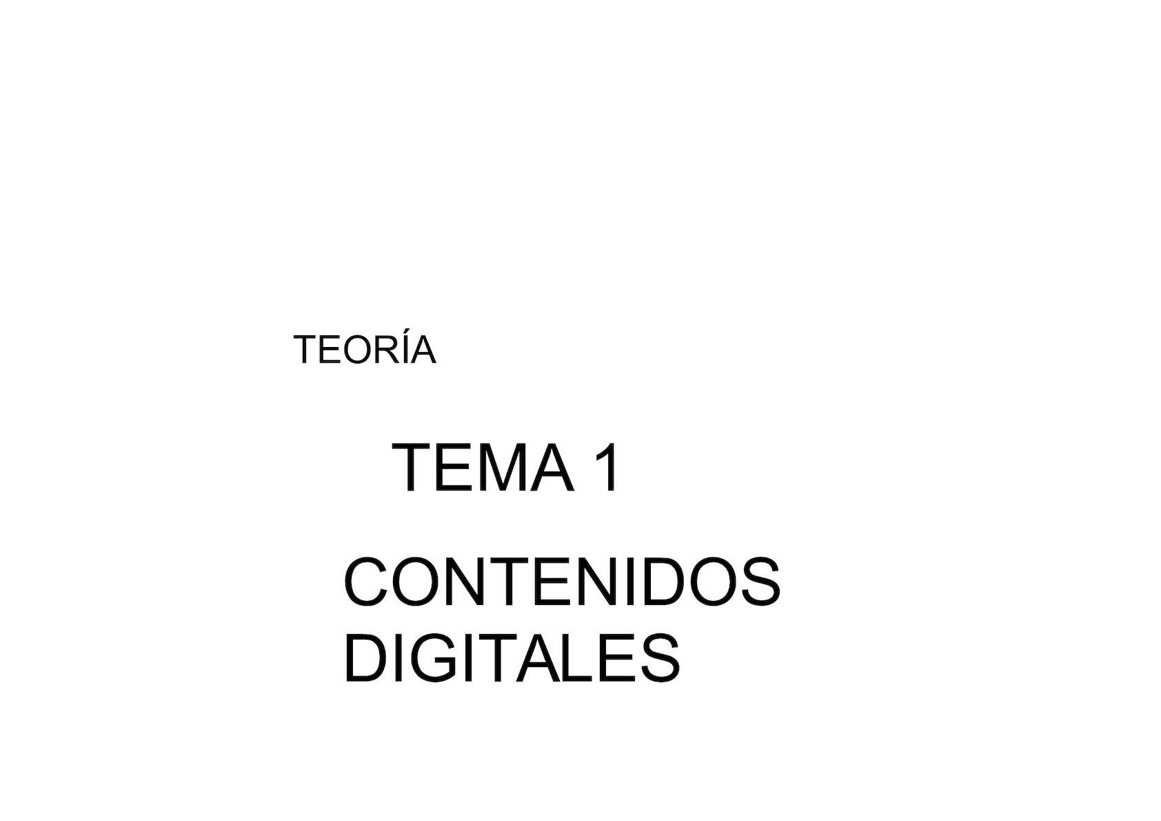 Calaméo - Tema 1 Contenidos Digitales