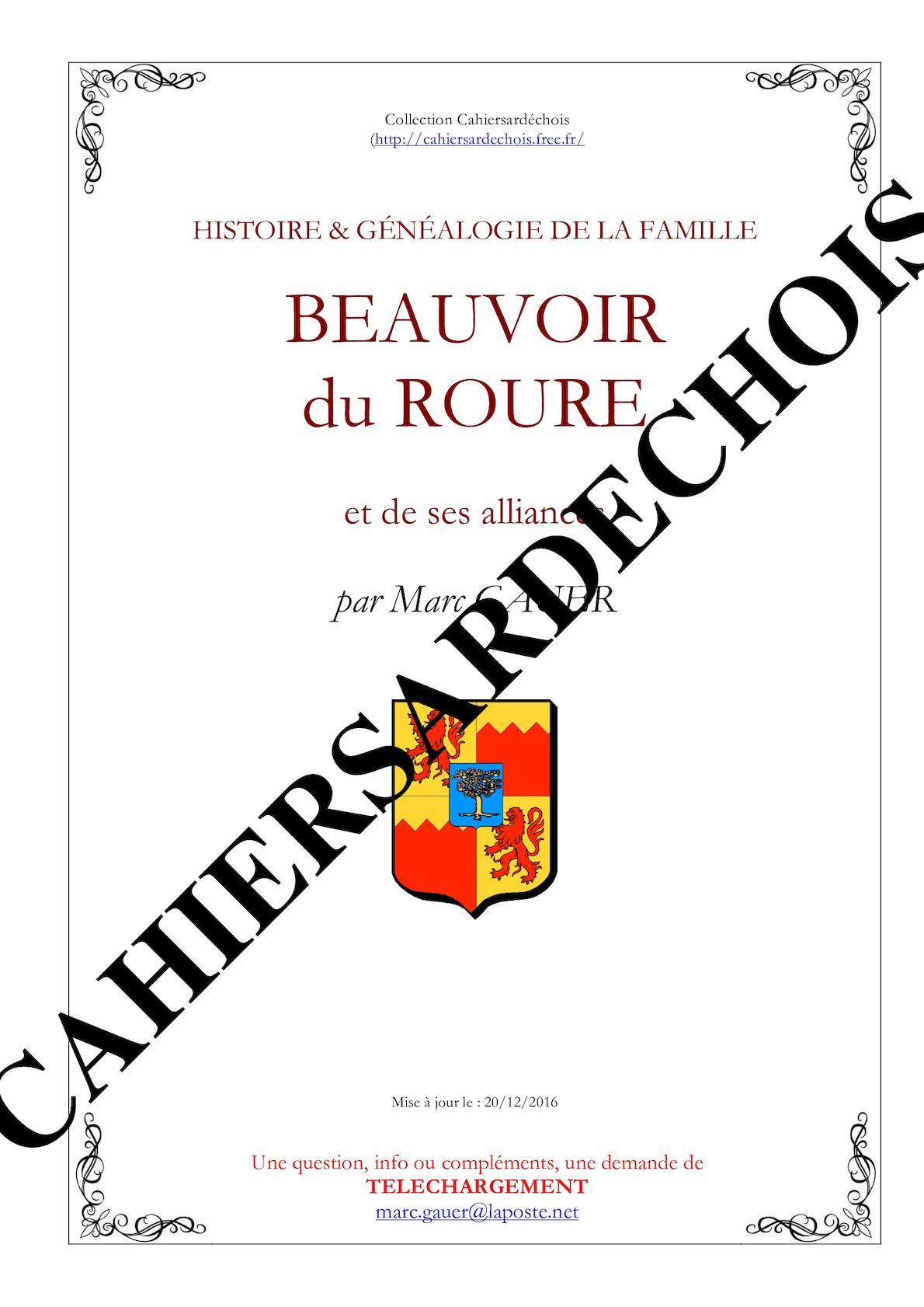 Beauvoir du Roure