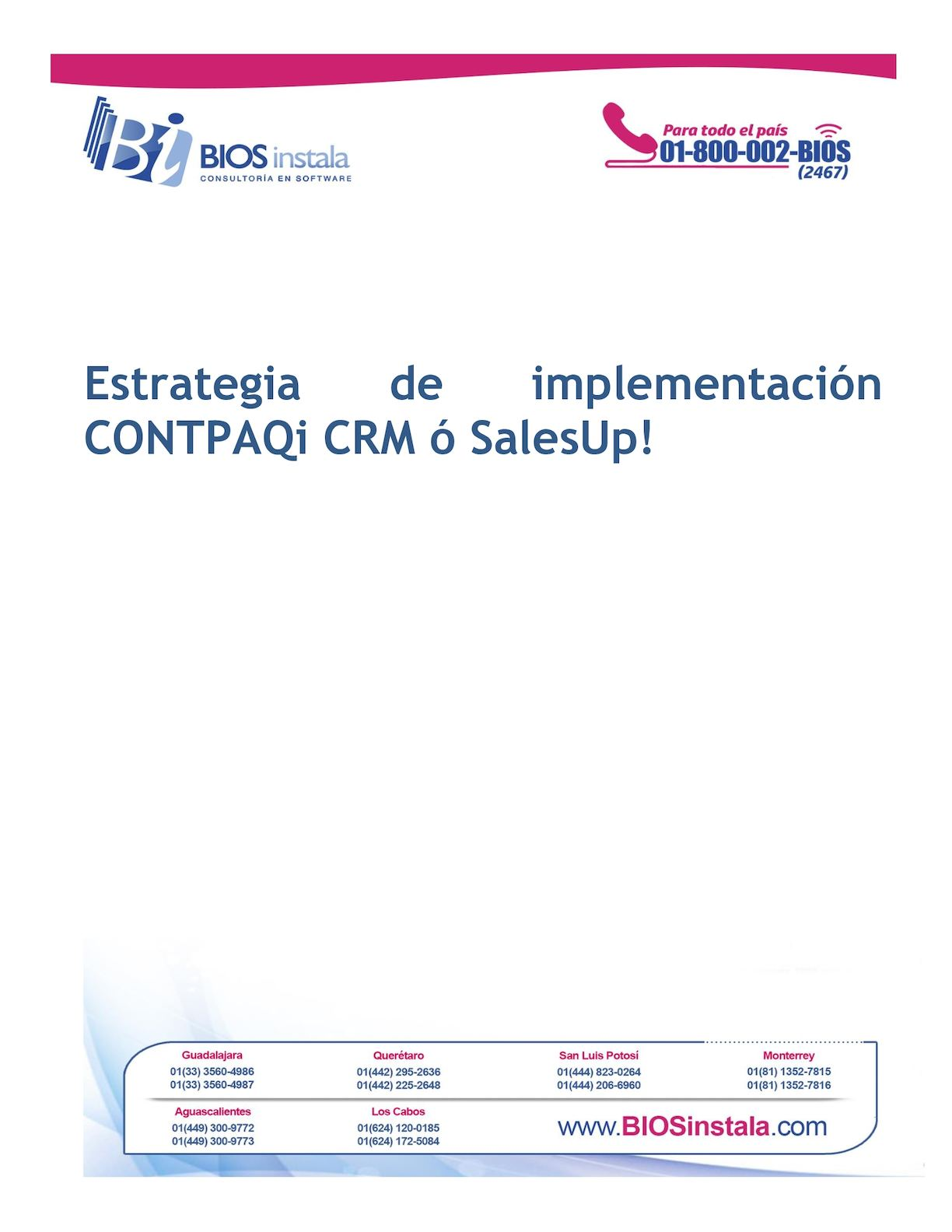 Calaméo - Proyecto De Implementación Crm Euroquip
