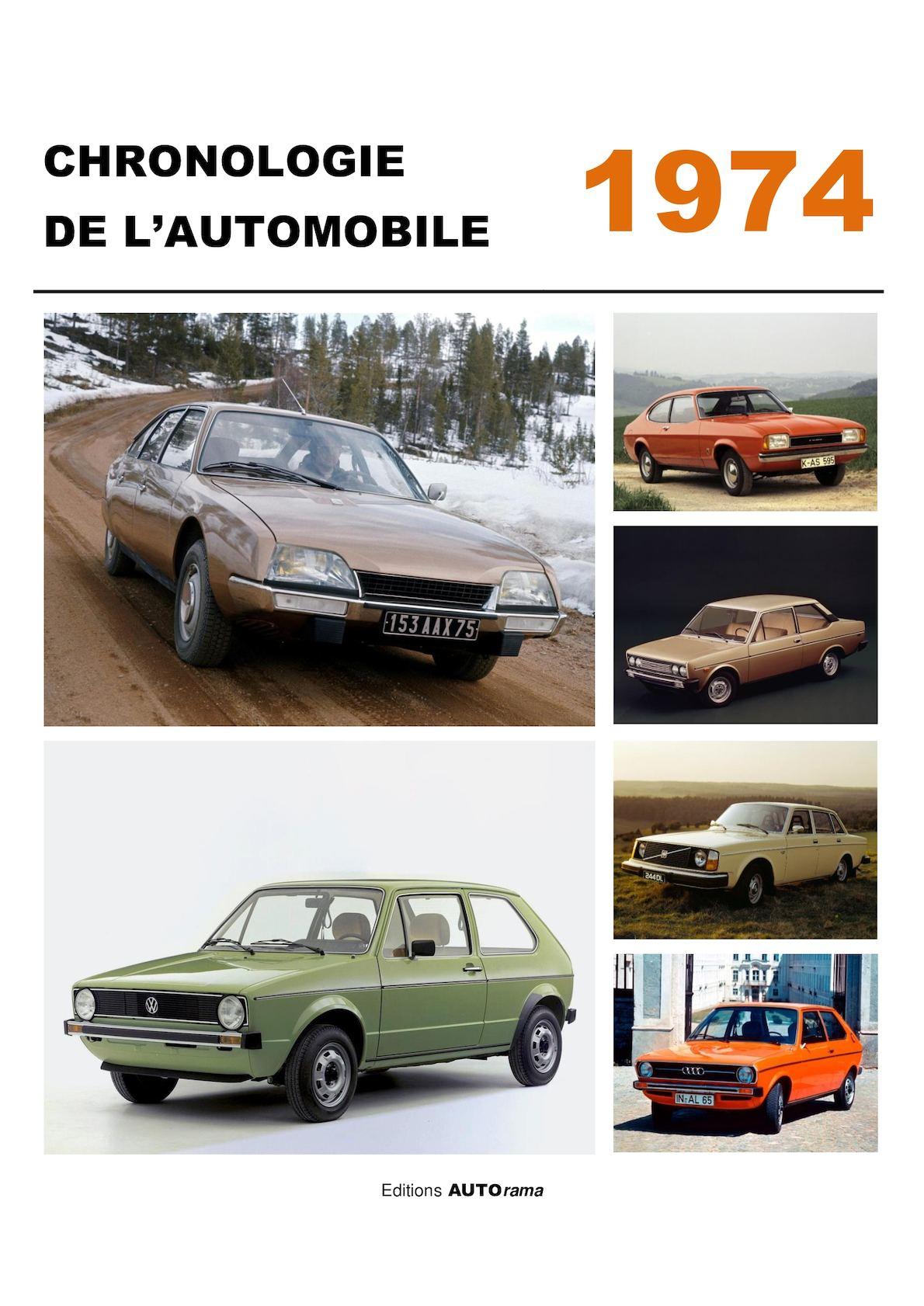 Chronologie de l'automobile - 1974