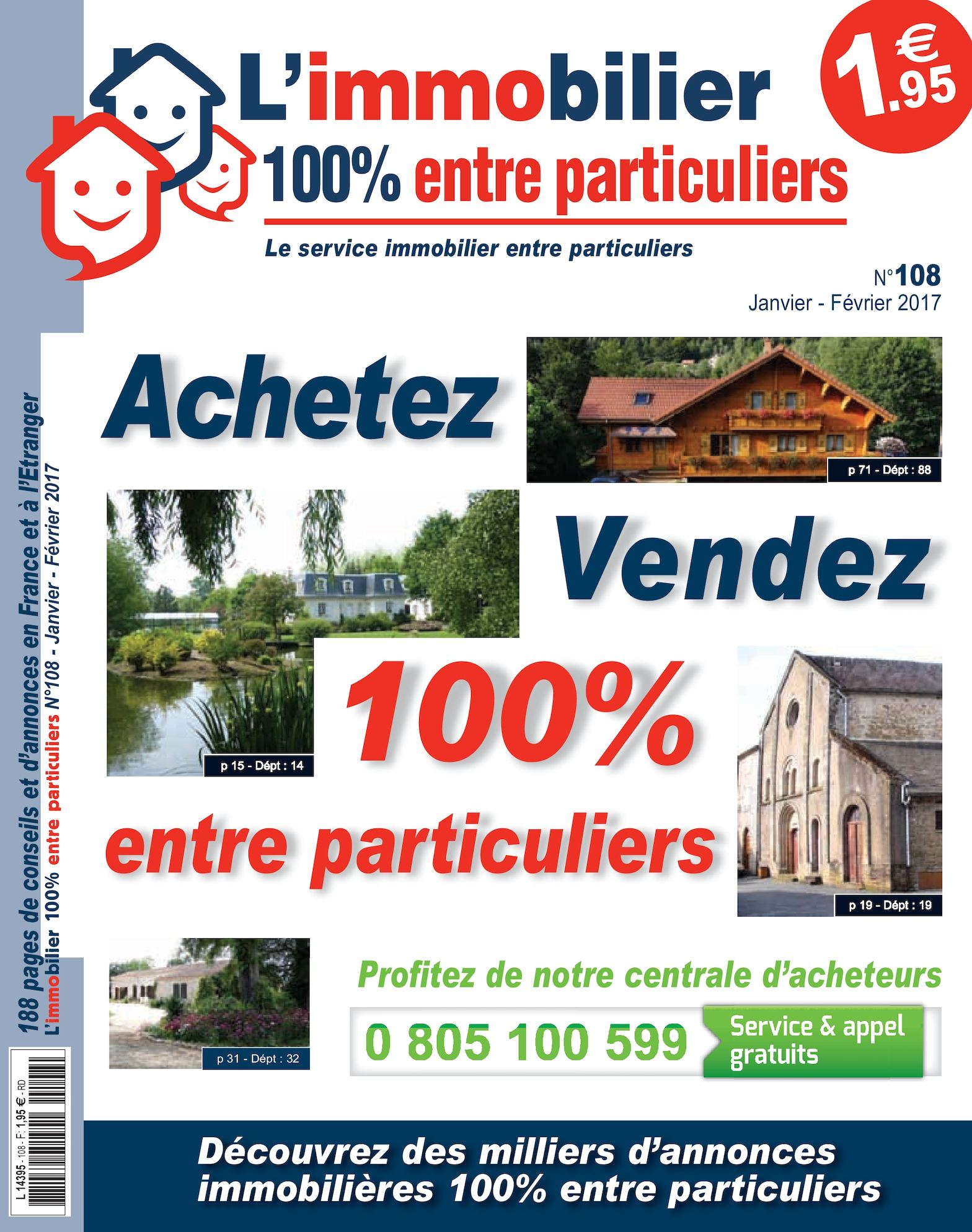 Calaméo - L immobilier 100% entre Particuliers – Appelimmo – N°108 –  Janvier Février 2017 01aaaeed6eb2
