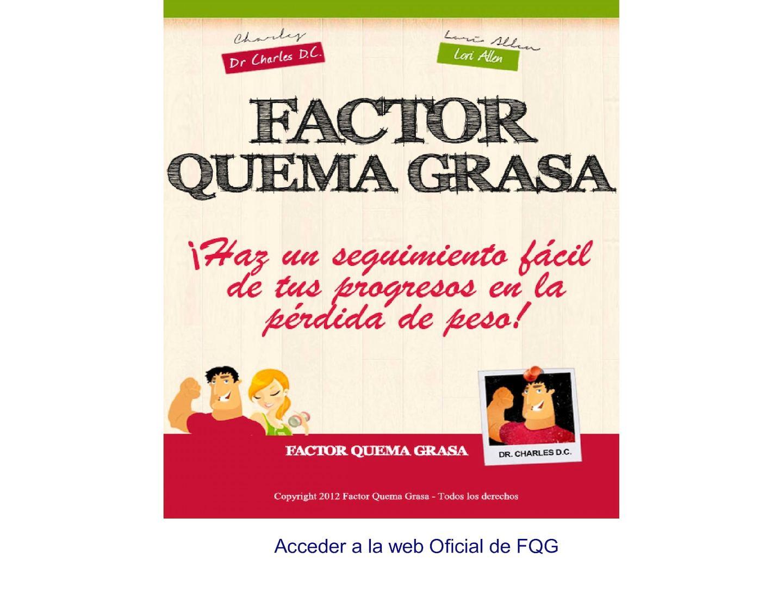 Factor Quema Grasa Libro Completo PDF