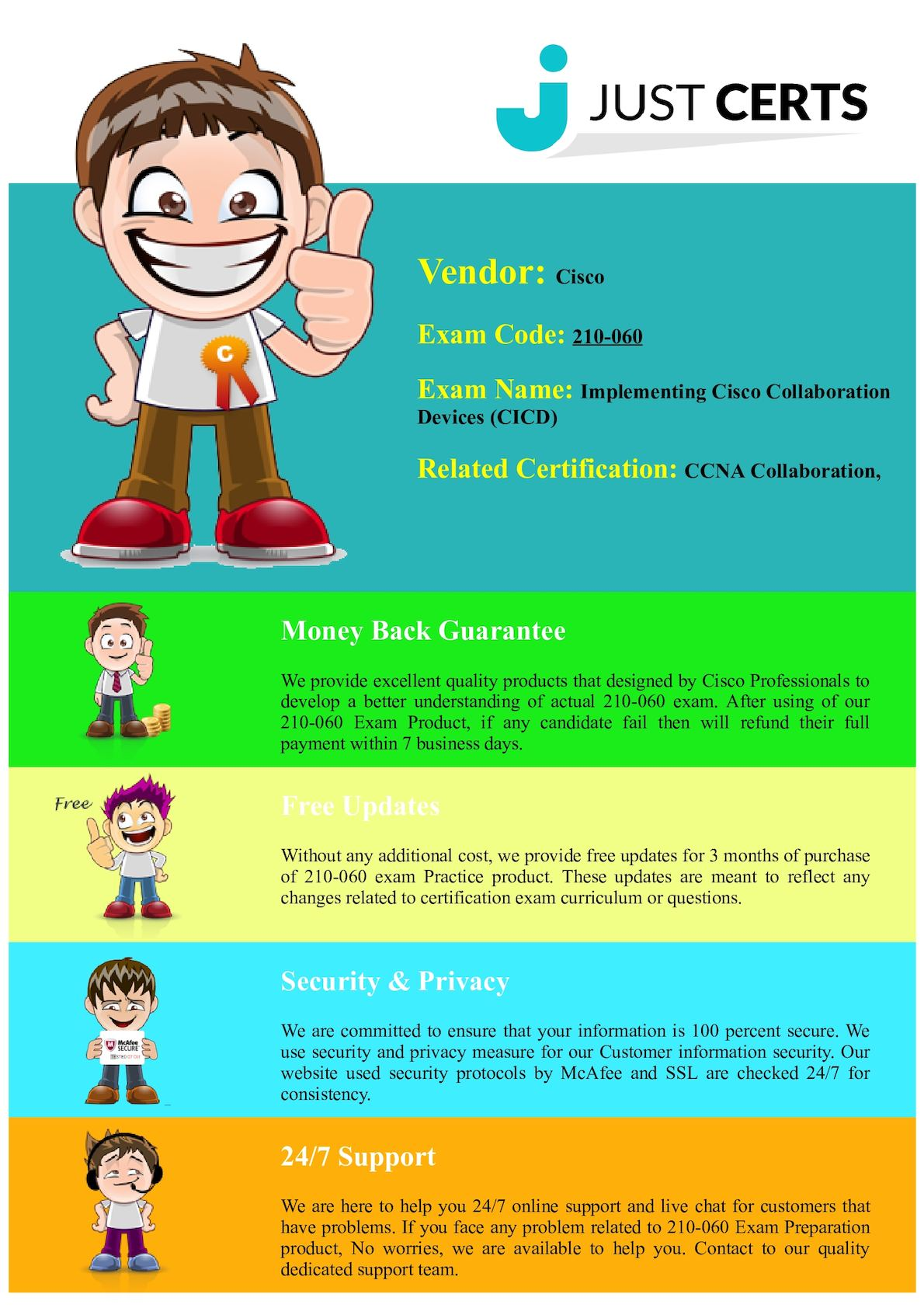 Calamo 210 060 Cicd Ccna Collaboration Exam Questions