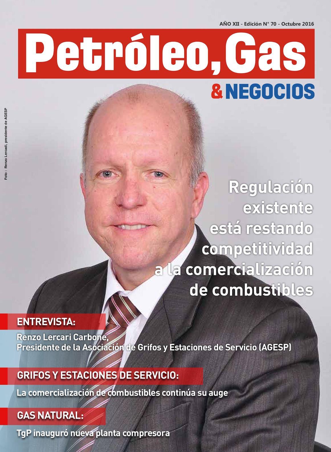 Calaméo - Revista Petroleo, Gas & Negociso Edicion 70