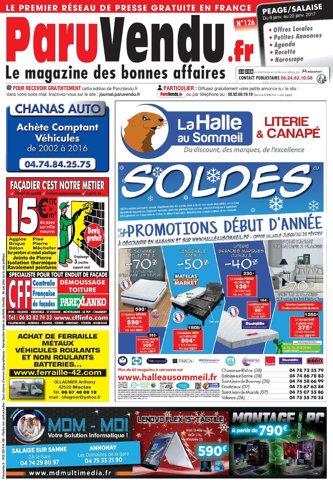fr Calaméo Salaise Peage N°126 Paruvendu wPX8nO0k