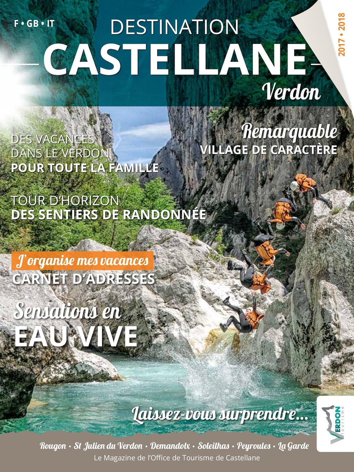"""Magazine """"Destination Castellane"""" 2016-2017"""