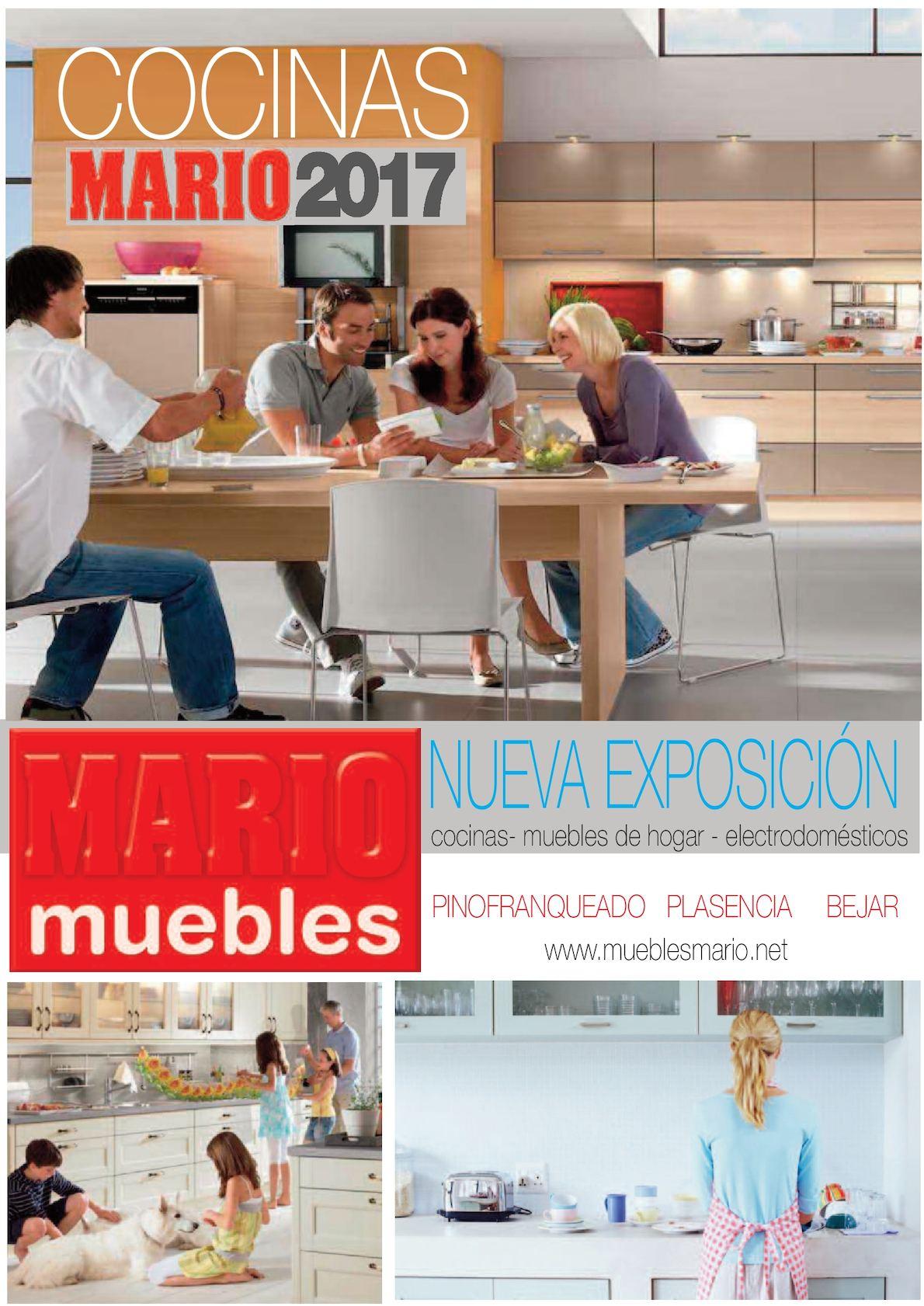 calam o catalogo cocinas 2017 nueva exposicion muebles mario