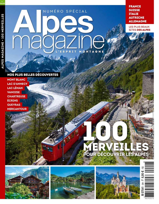 100 Merveilles Alpes