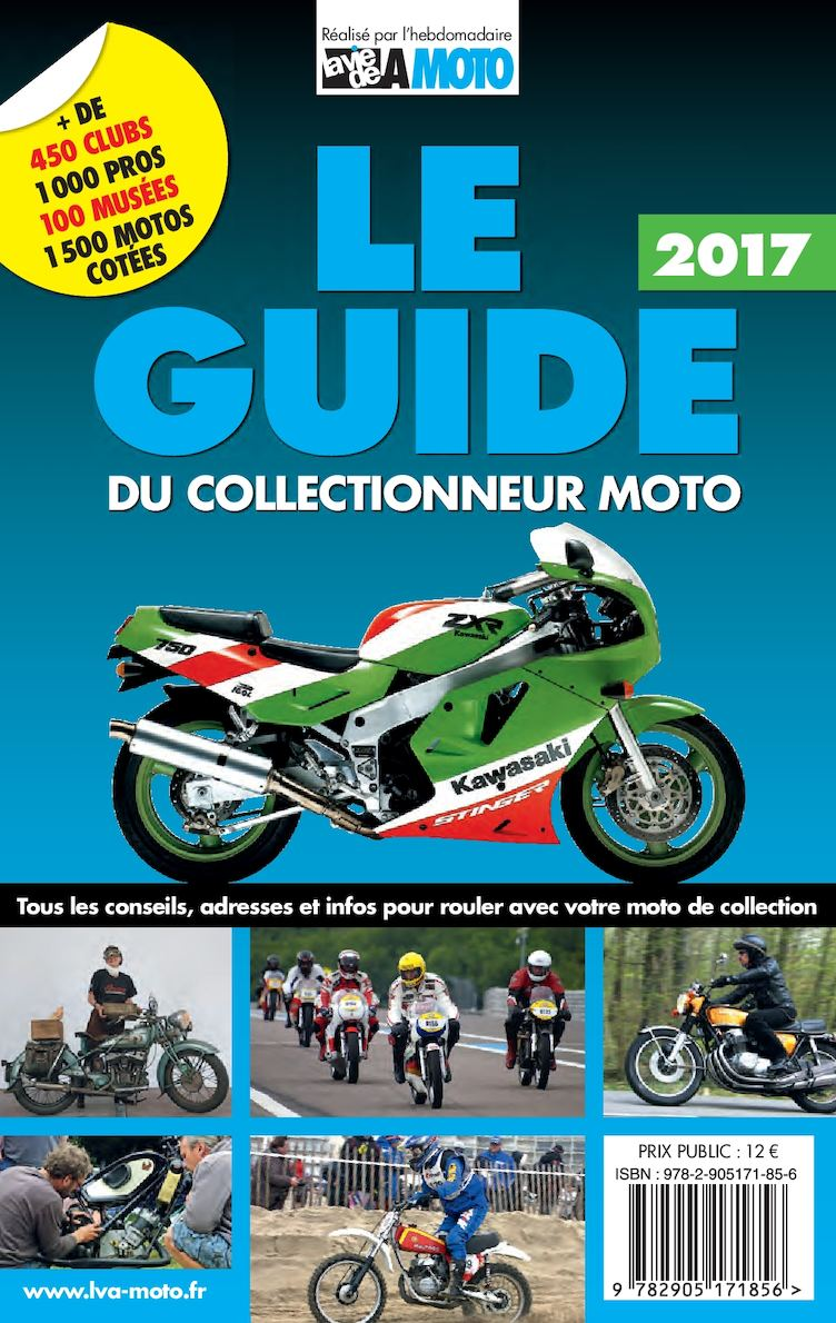 Le Guide du collectionneur moto 2017