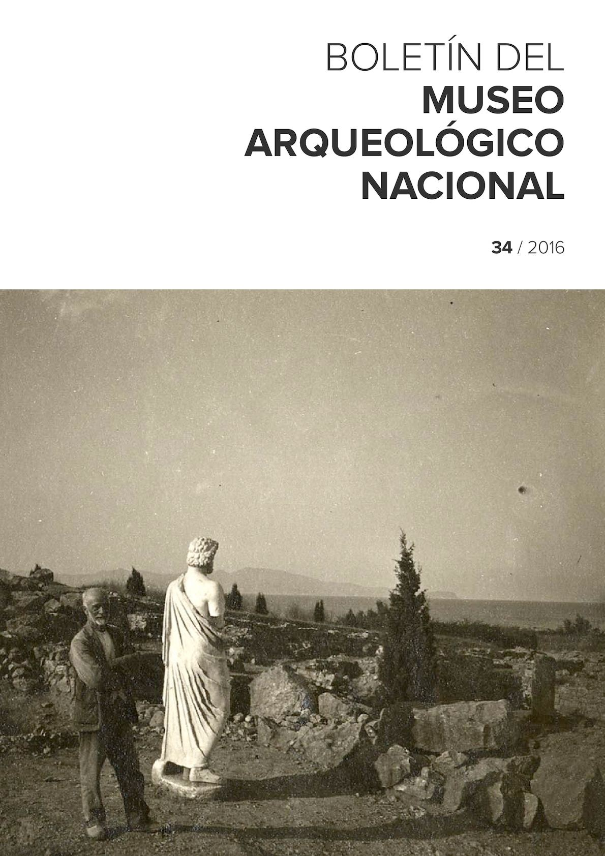 Calaméo - BOLETÍN DEL MUSEO ARQUEOLÓGICO NACIONAL nº 34 / 2016