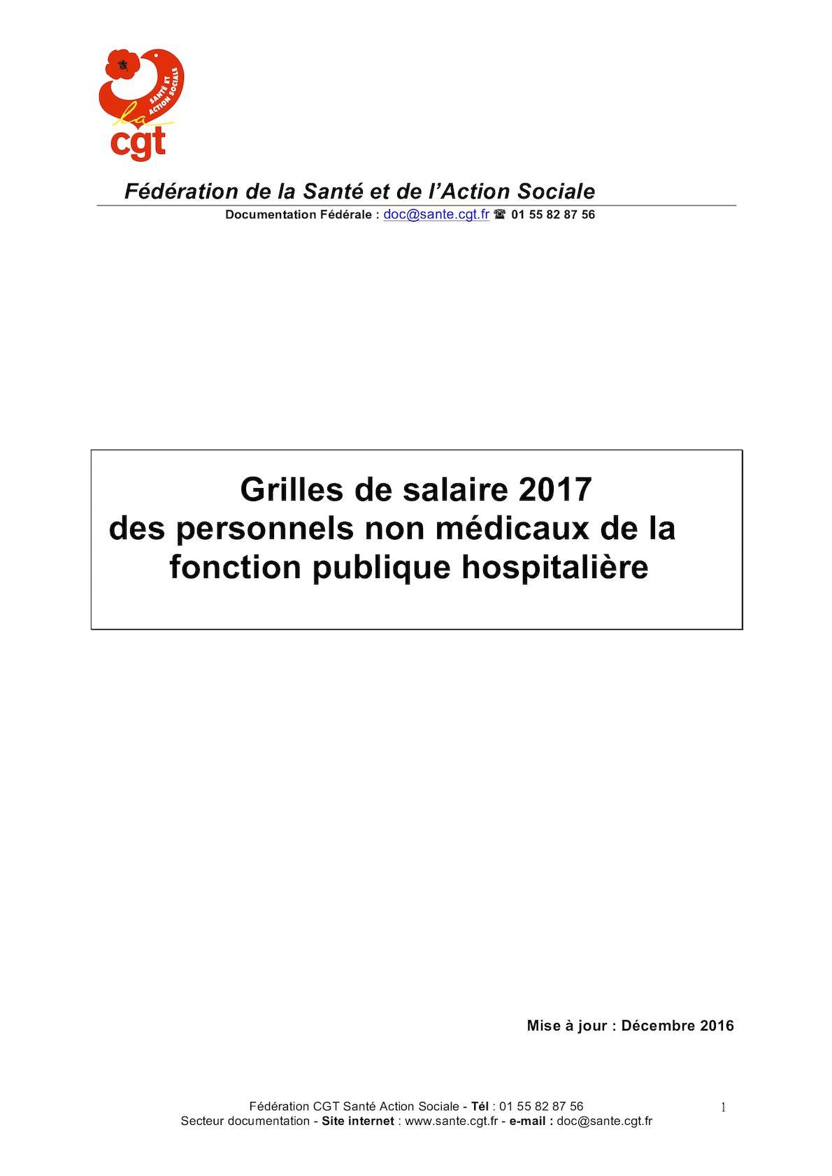 Calameo Grilles Des Salaires Fph 2017