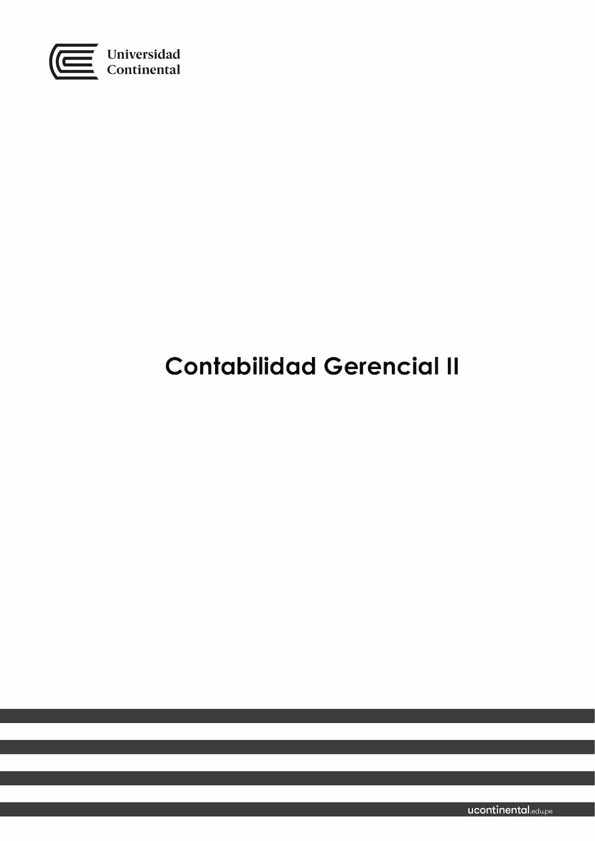 Calaméo - TEXTO CONTABILIDAD GERENCIAL II 2017