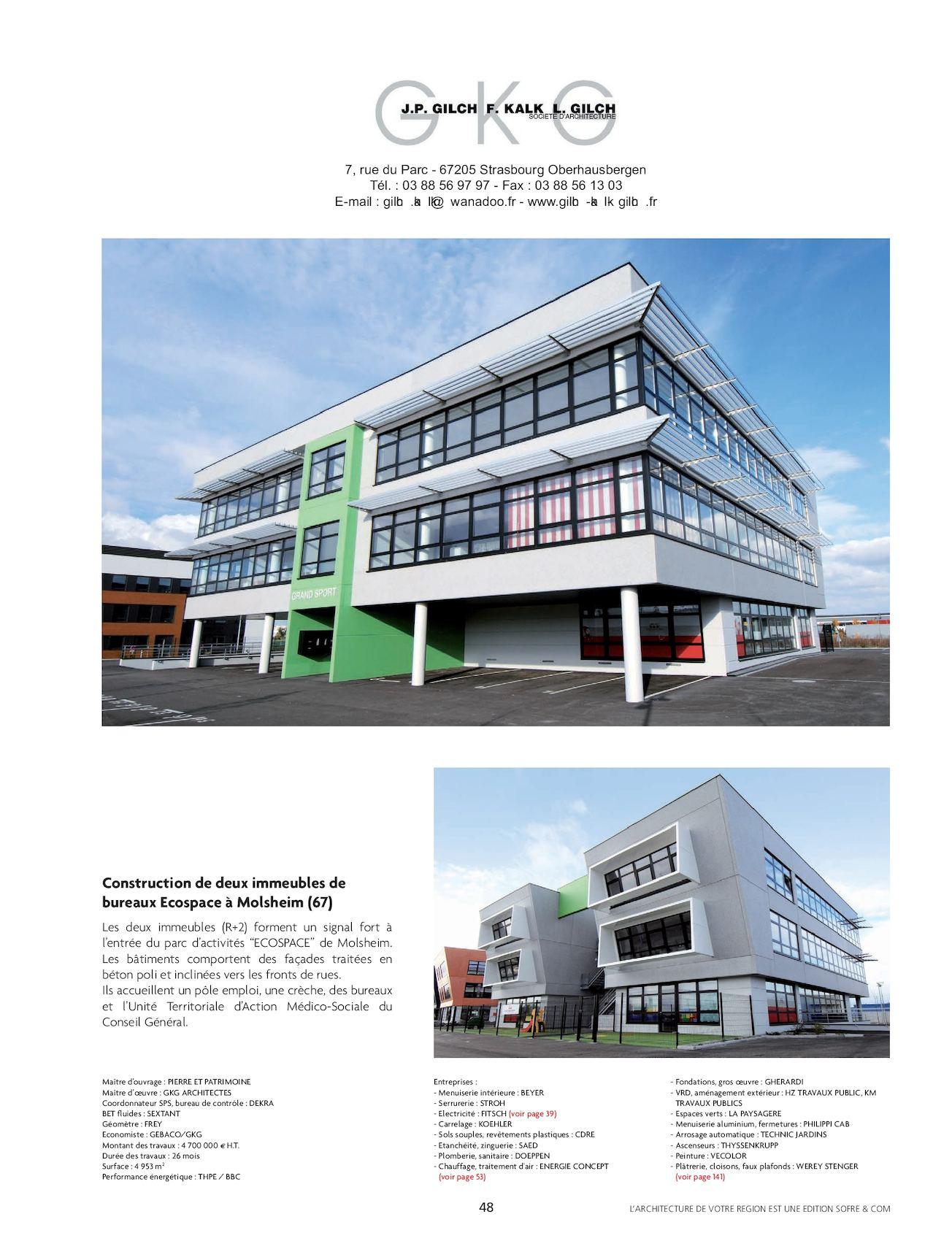LARCHITECTURE DE VOTRE REGION ALSACE CALAMEO Downloader - Carrelage koehler