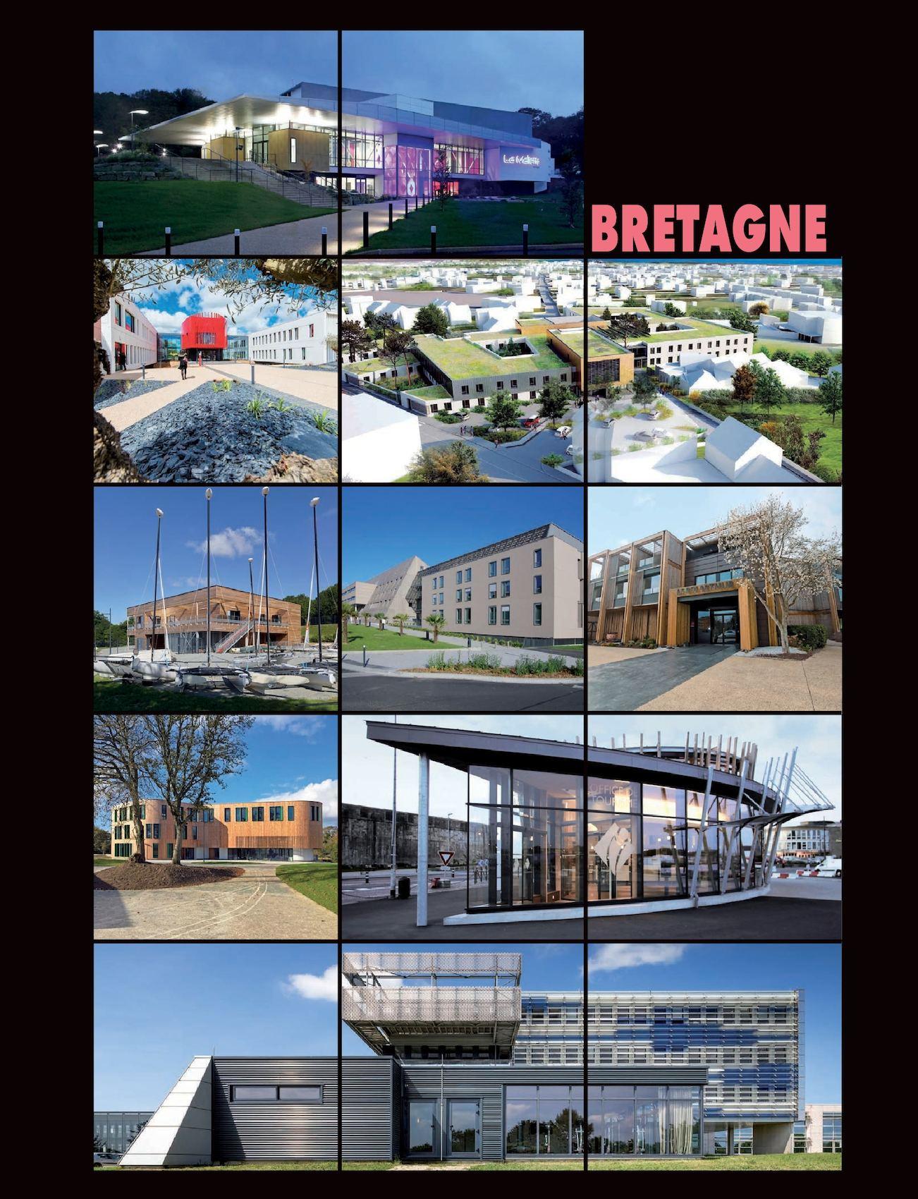 Calam o l 39 architecture de votre region bretagne 283 for O architecture brest