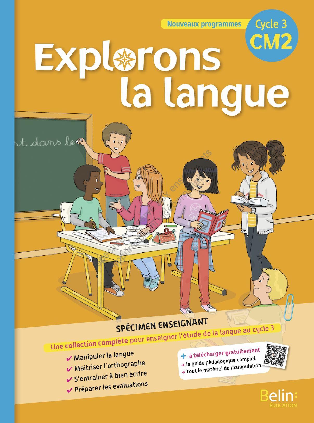 explorons la langue CM2