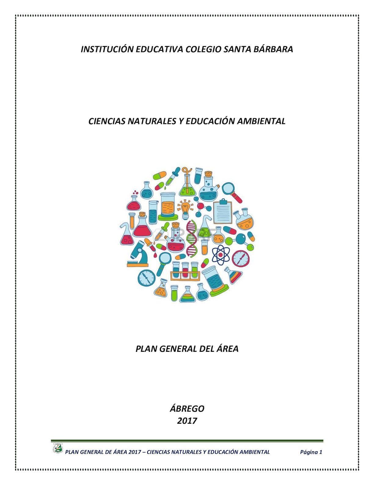 Calaméo - PLAN GENERAL CIENCIAS NATURALES 2017