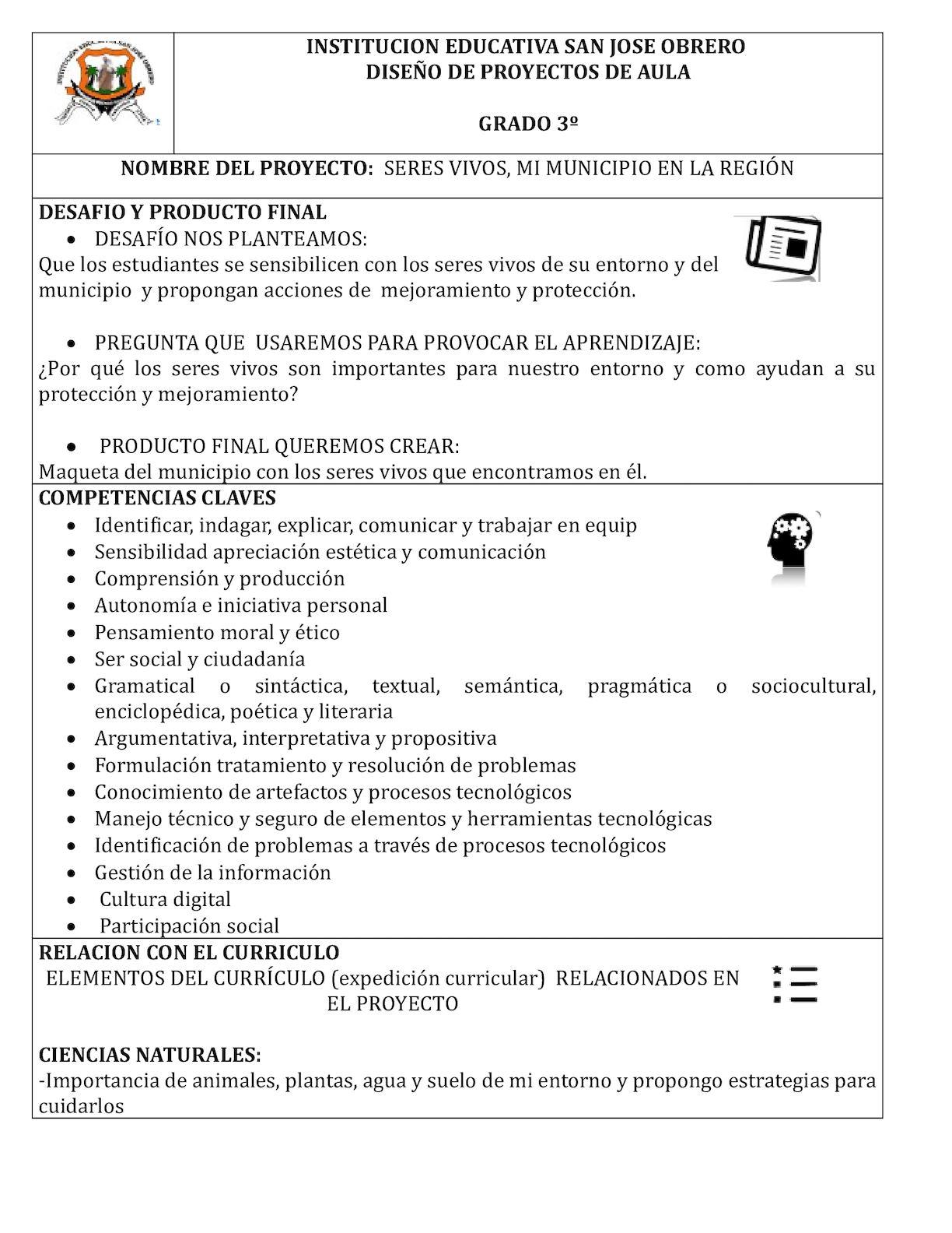 Calaméo - Grado 3º Mi Municipio En La Región Los Seres Vivos, Mi ...
