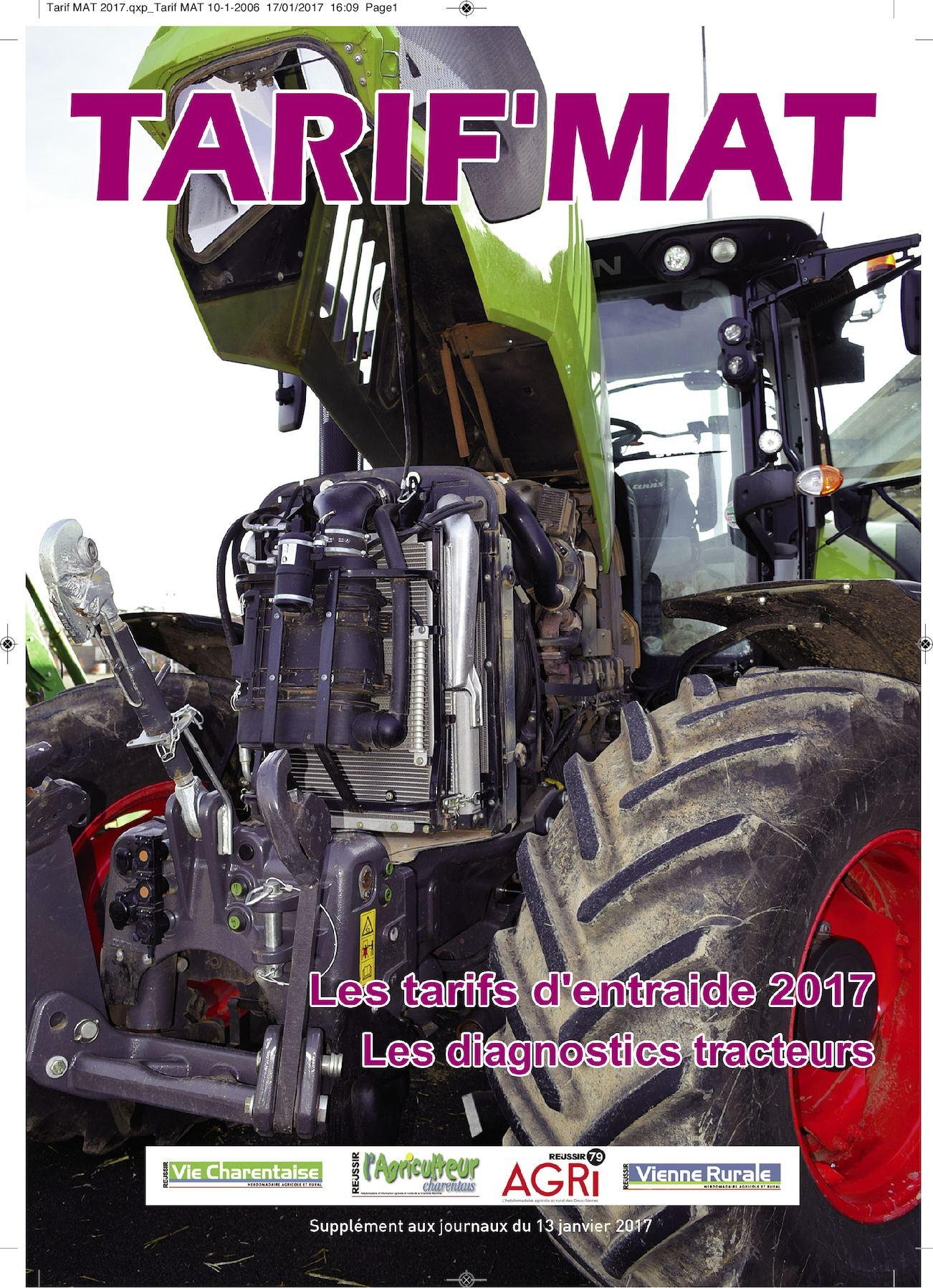 Calam o tarif mat 2017 - Chambre agriculture poitou charentes ...