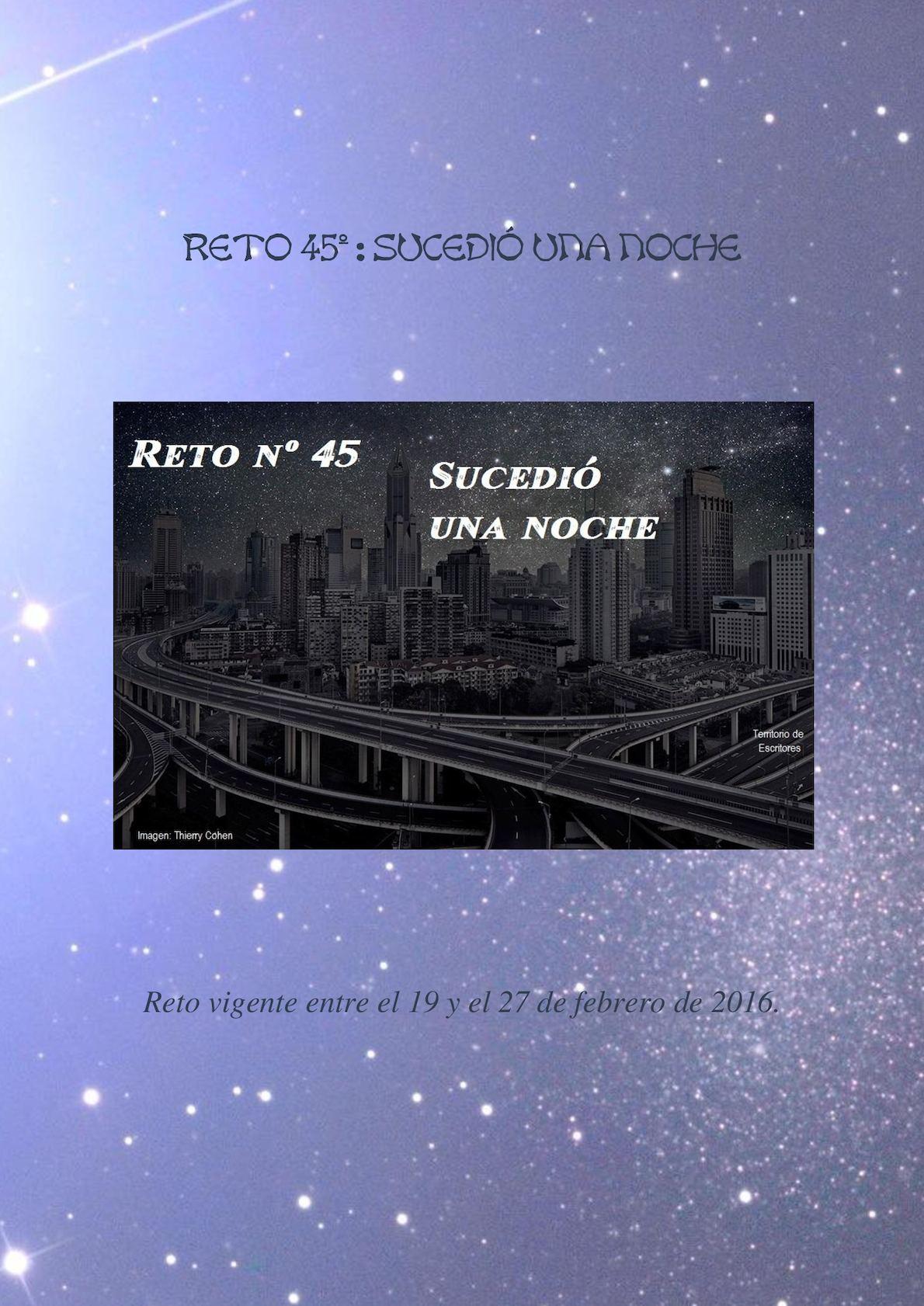 Calaméo - Reto Nº 45 Suecdió Una Noche