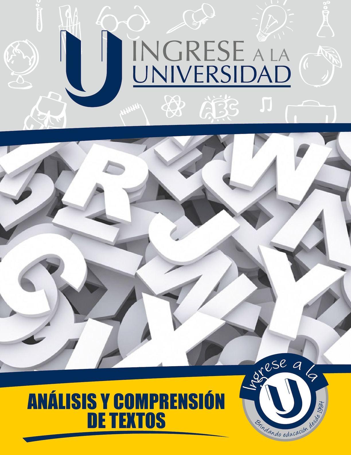 Texto Análisis Y Comprensión De Textos 7