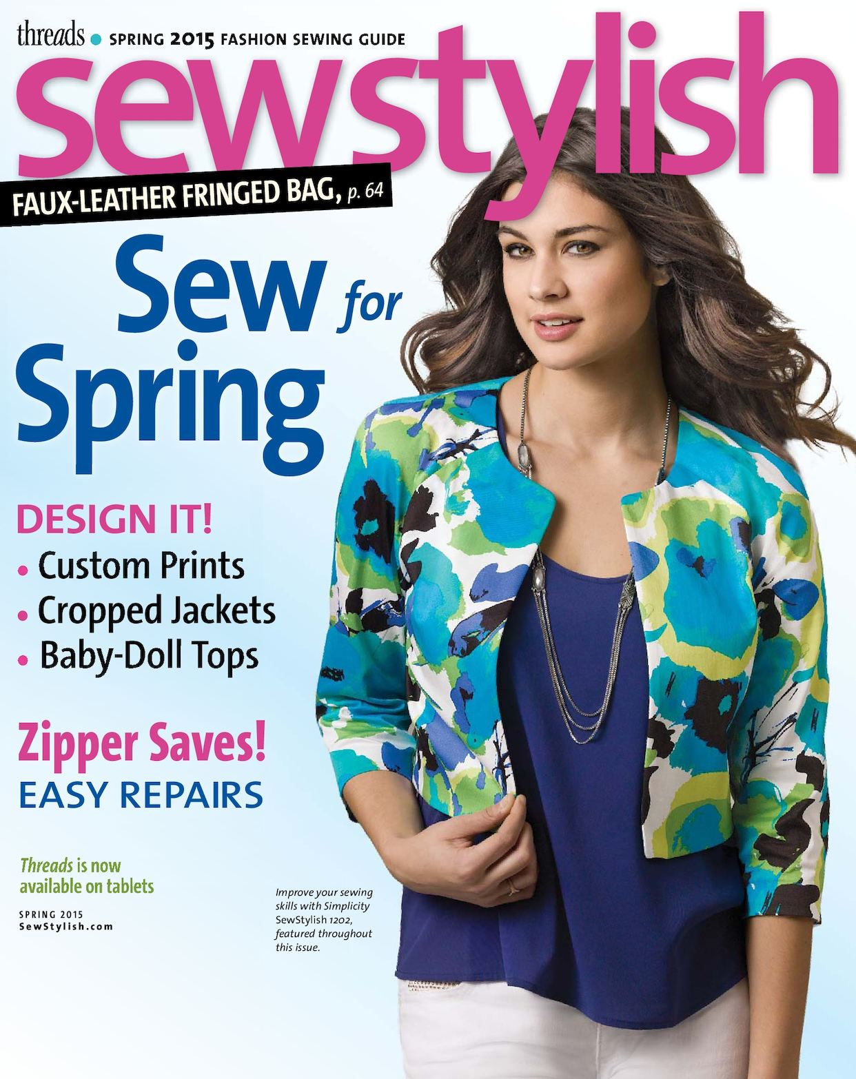 TH SIP#42 - SewStylish Spring 2015 - Preview