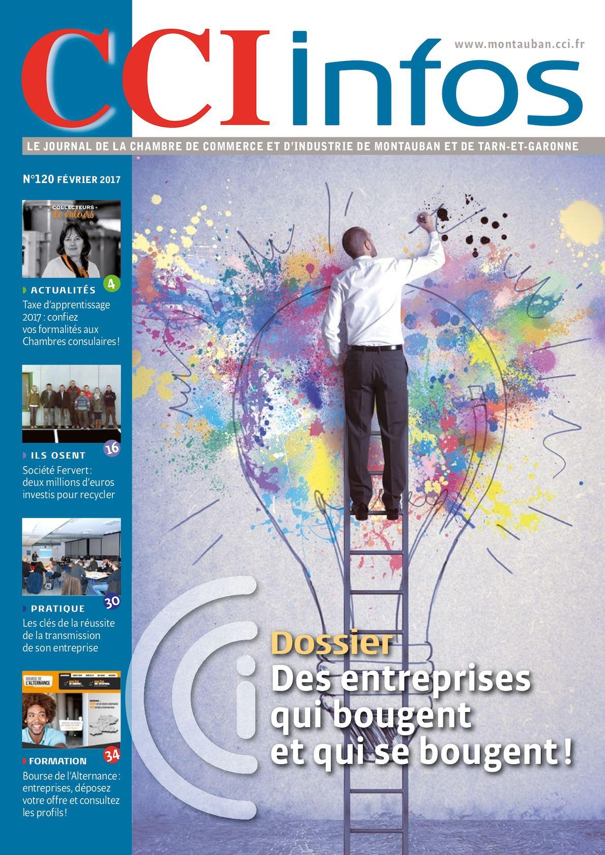 Calam o cci infos janvier 2017 for Chambre de commerce montauban