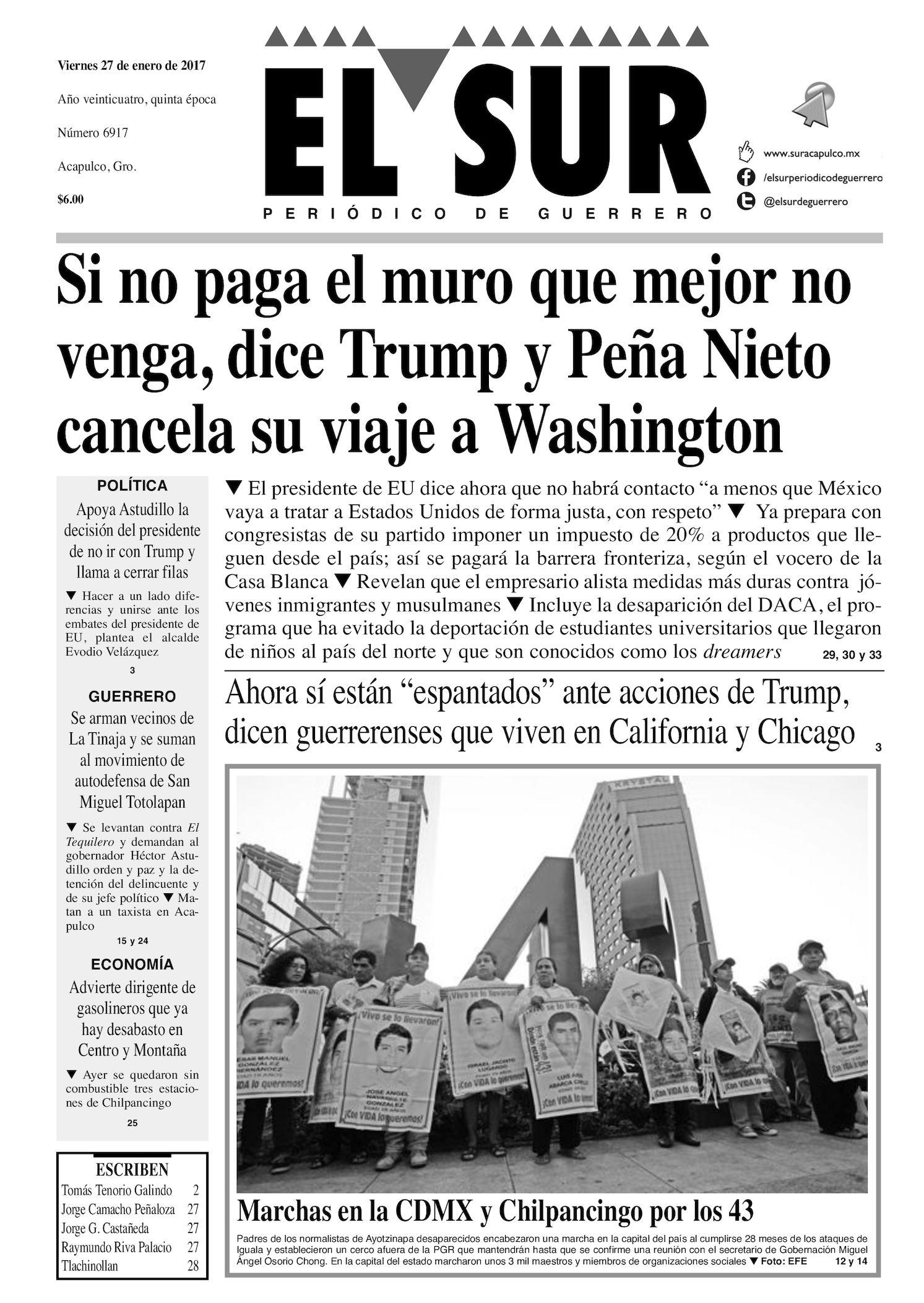 Calaméo - El Sur Viernes 27012017