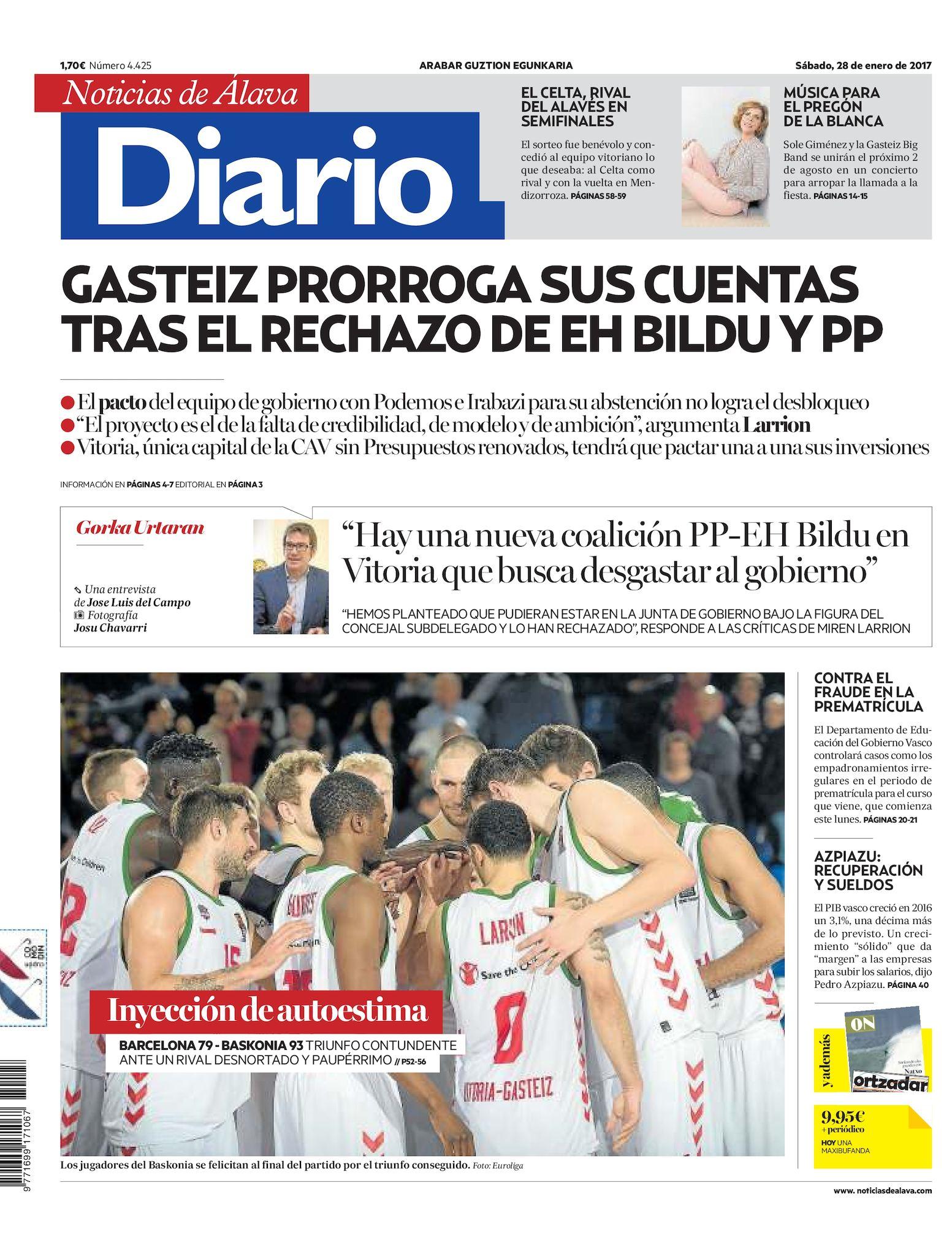 the latest 3b599 d57ac Calaméo - Diario de Noticias de Álava 20170128