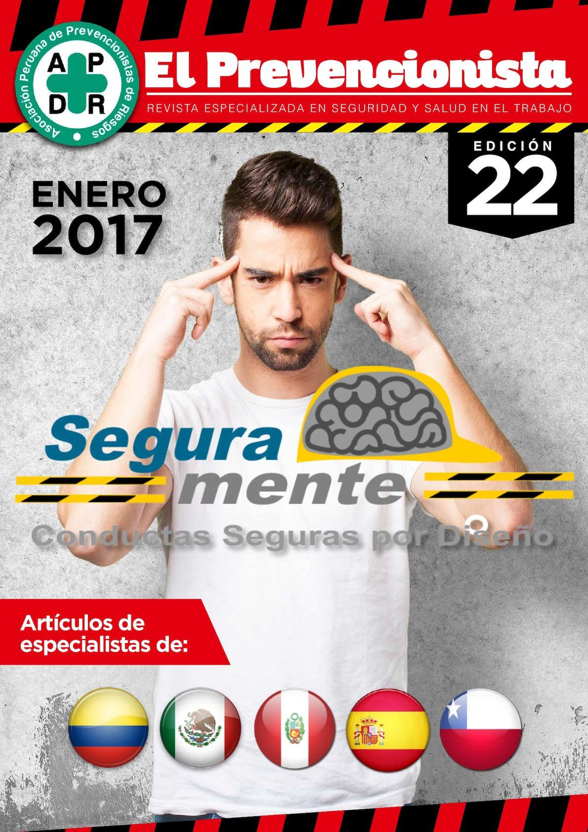 Revista El Prevencionista 22ava edición
