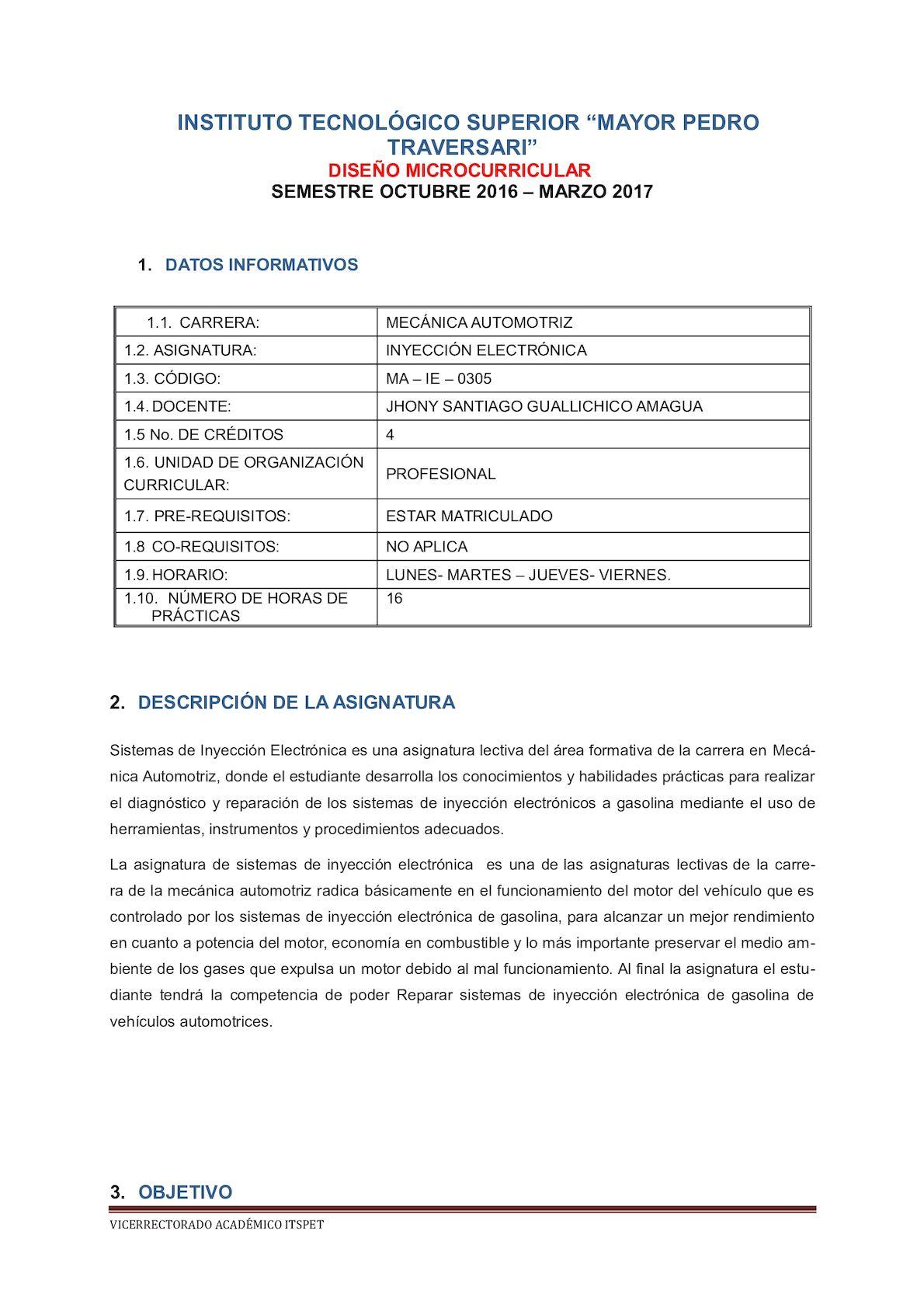 Calaméo - Silabo De Inyeccion