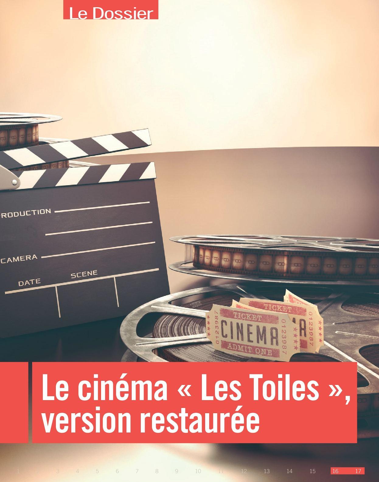 """Dossier Cinéma """"Les Toiles"""""""