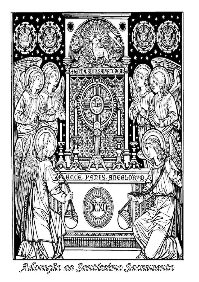 Adoração Ao Santíssimo Sacramento Livro Pdf