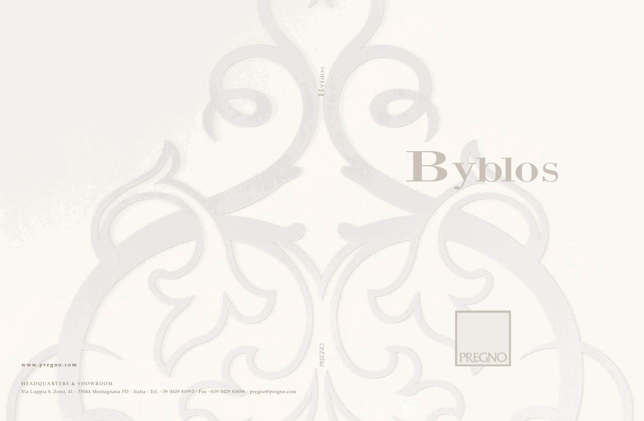 Calaméo catalogo byblos