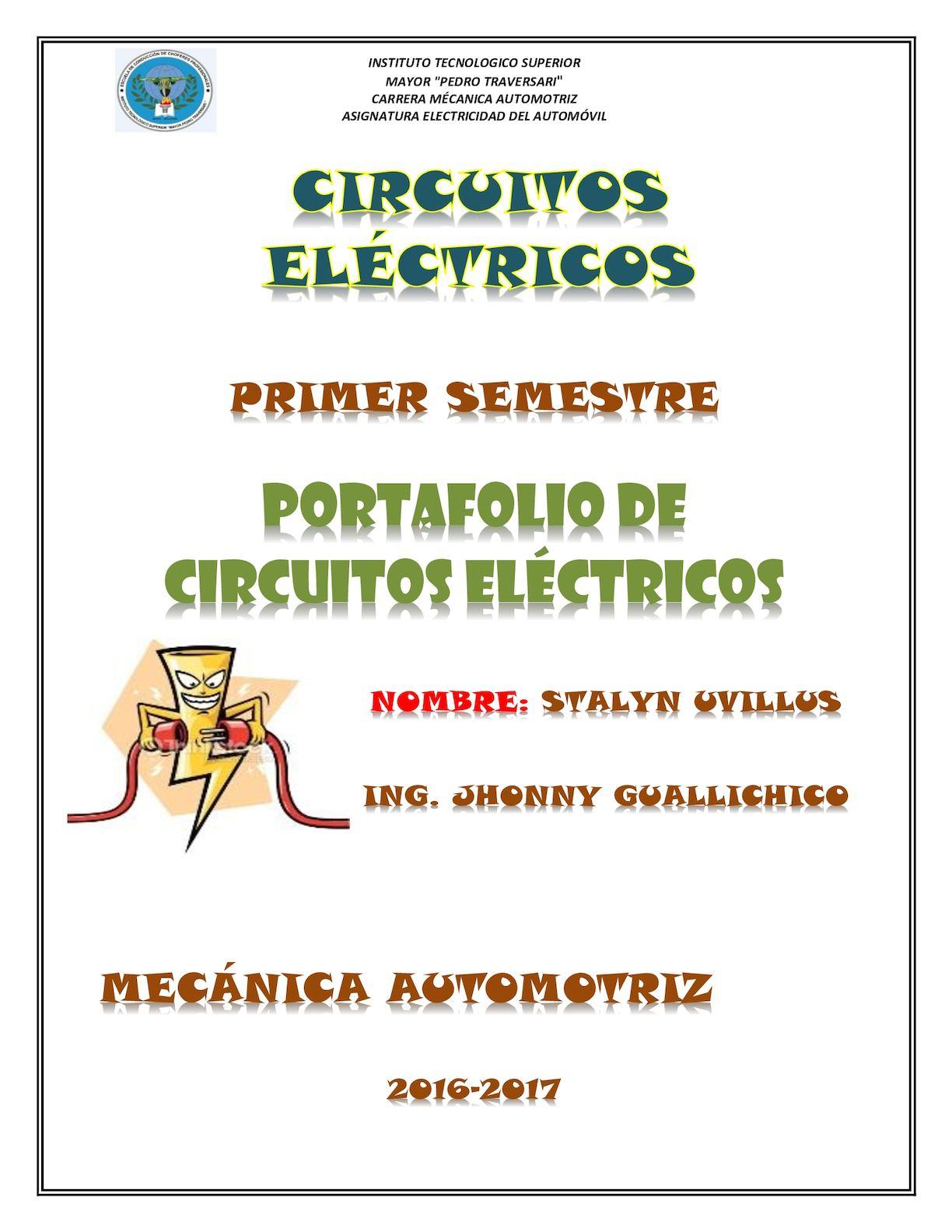 Circuito Mayor : Calaméo portafolio circuitos