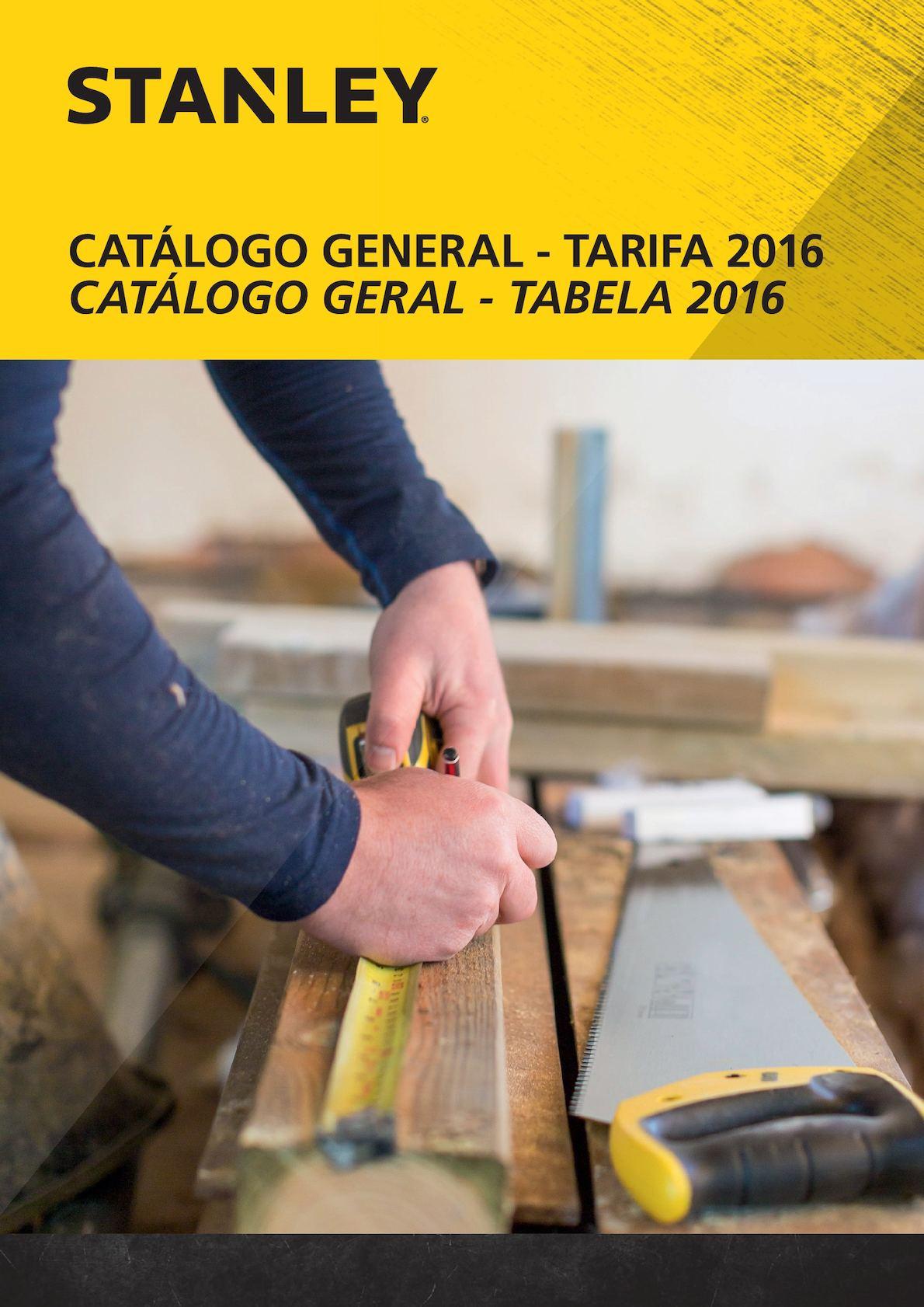 Stanley Catalogo Tarifa General 2016