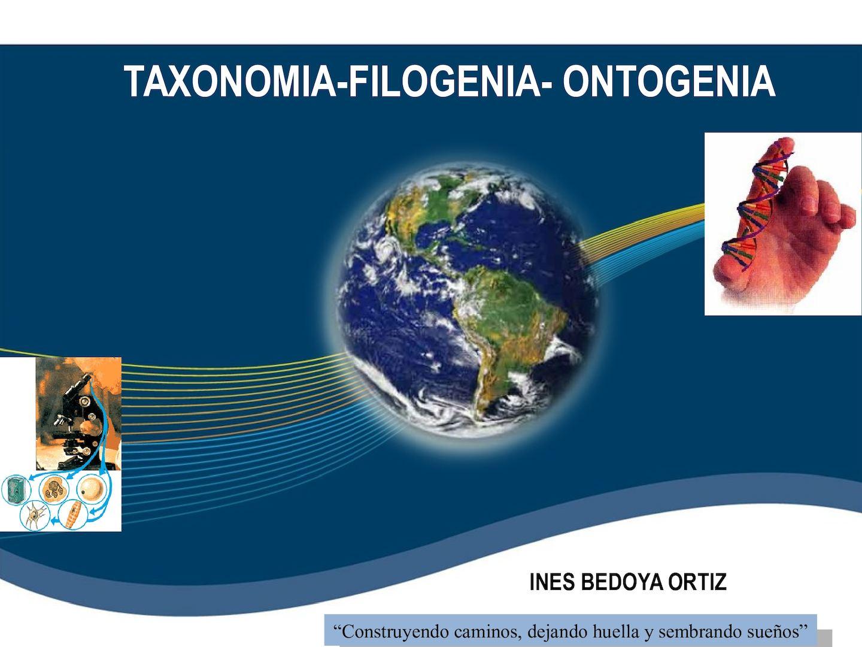 Taxonomia Filogenia Ontogenia