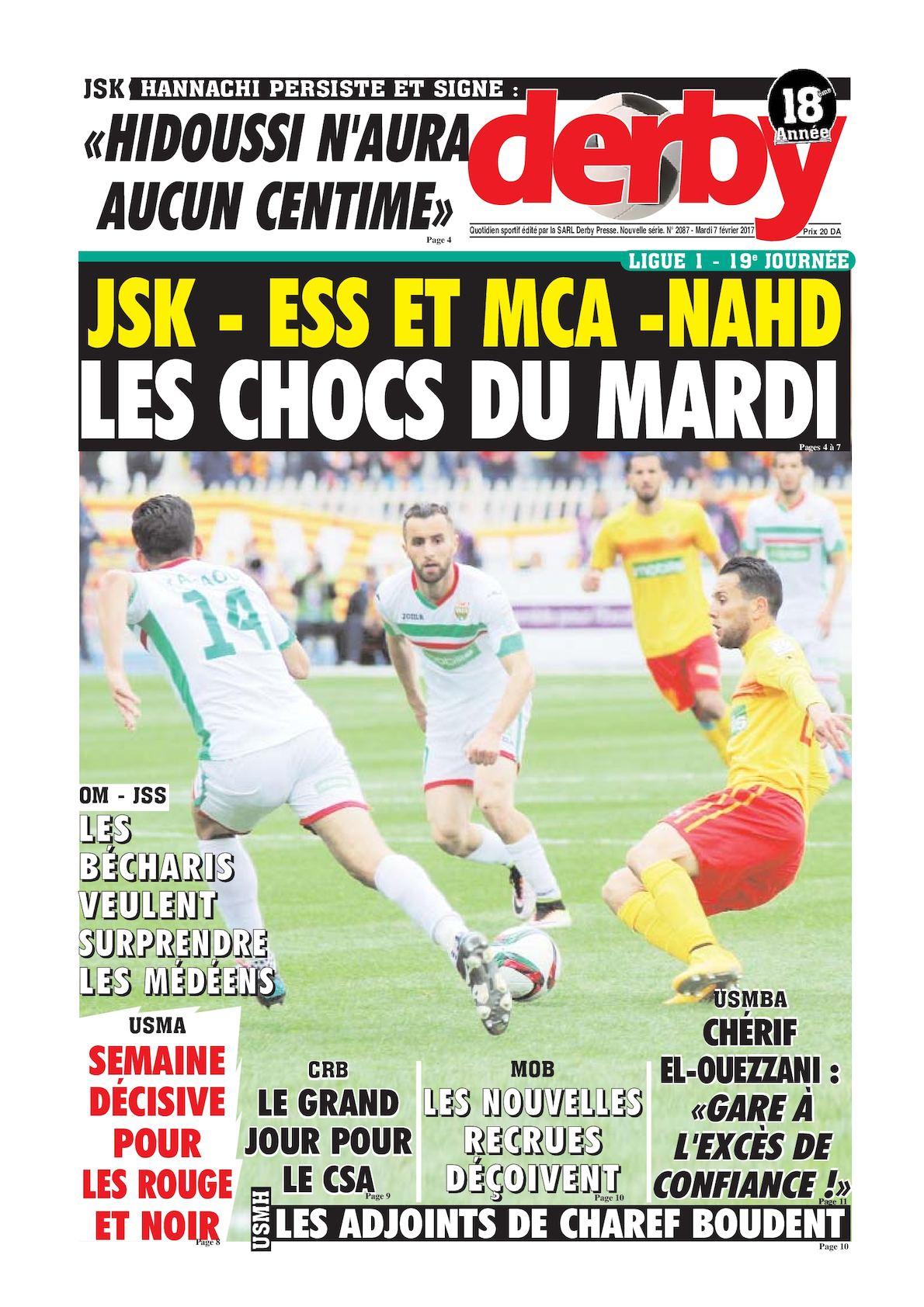 derby du 07.02.2017