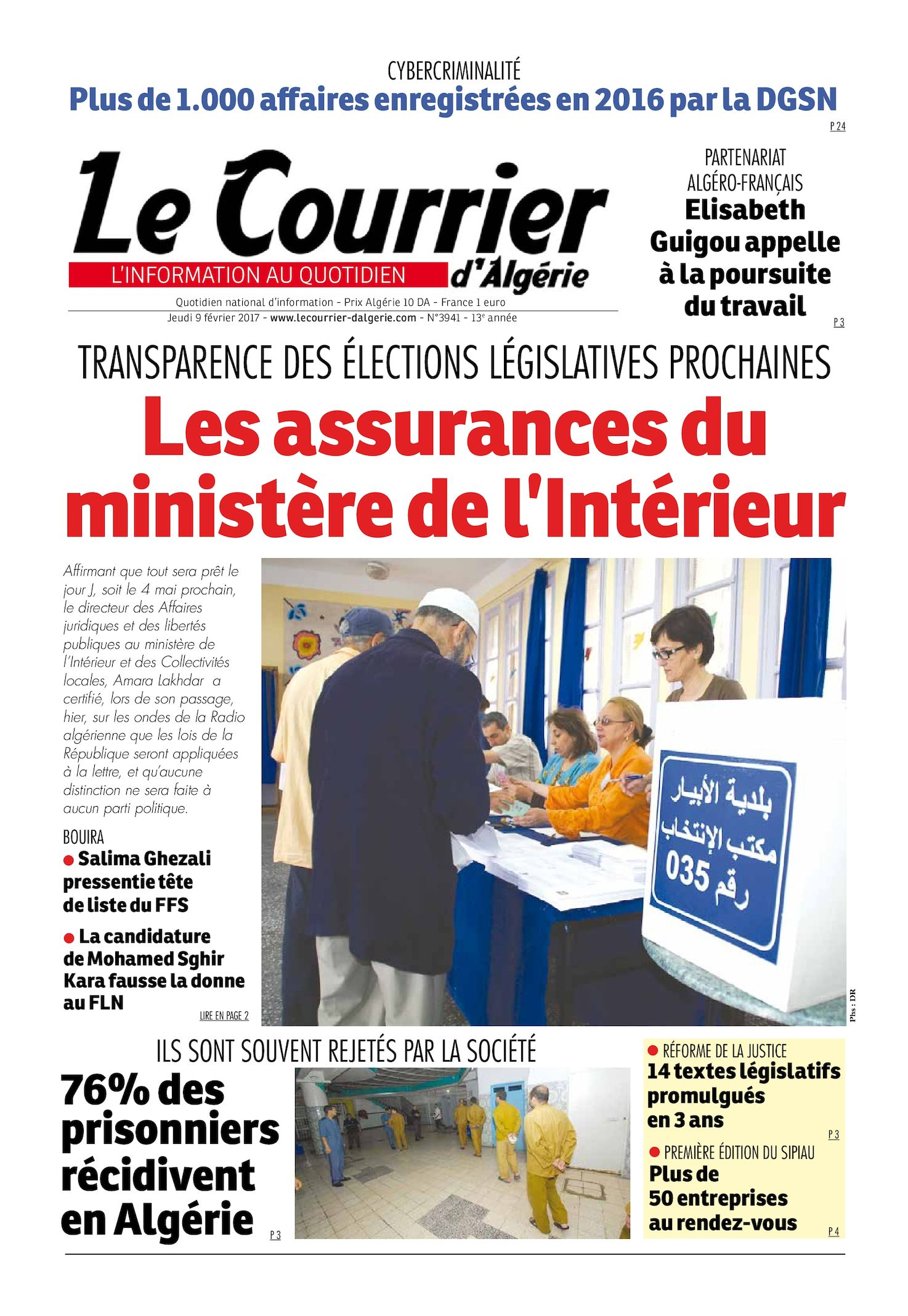 Algerie ministere de l interieur 28 images le secr 233 for Le ministere de l interieur