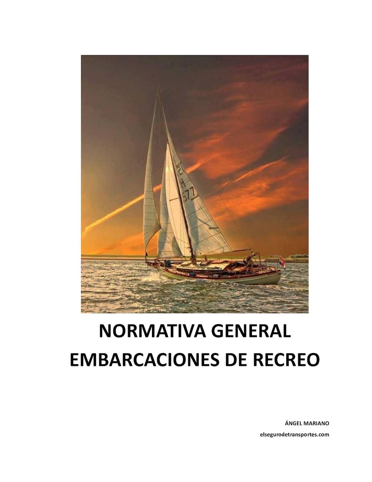 Calaméo - Normativa General Embarcaciones De Recreo